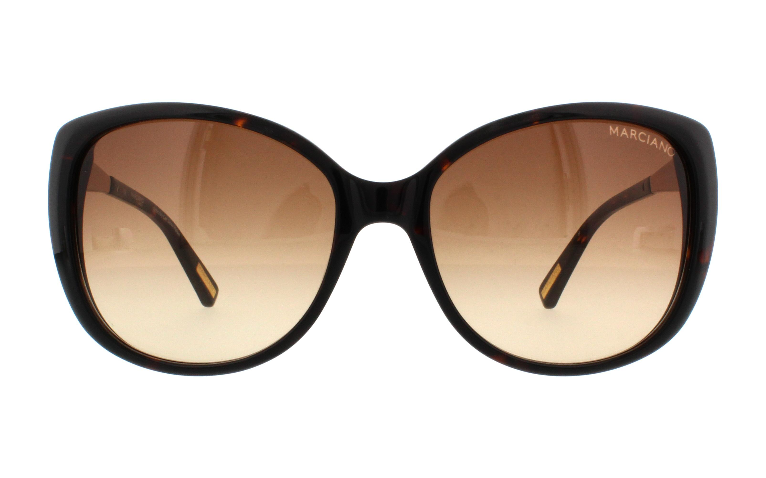 e103ab39767 GUESS BY MARCIANO Sunglasses GM 722 S57 Tortoise 58MM
