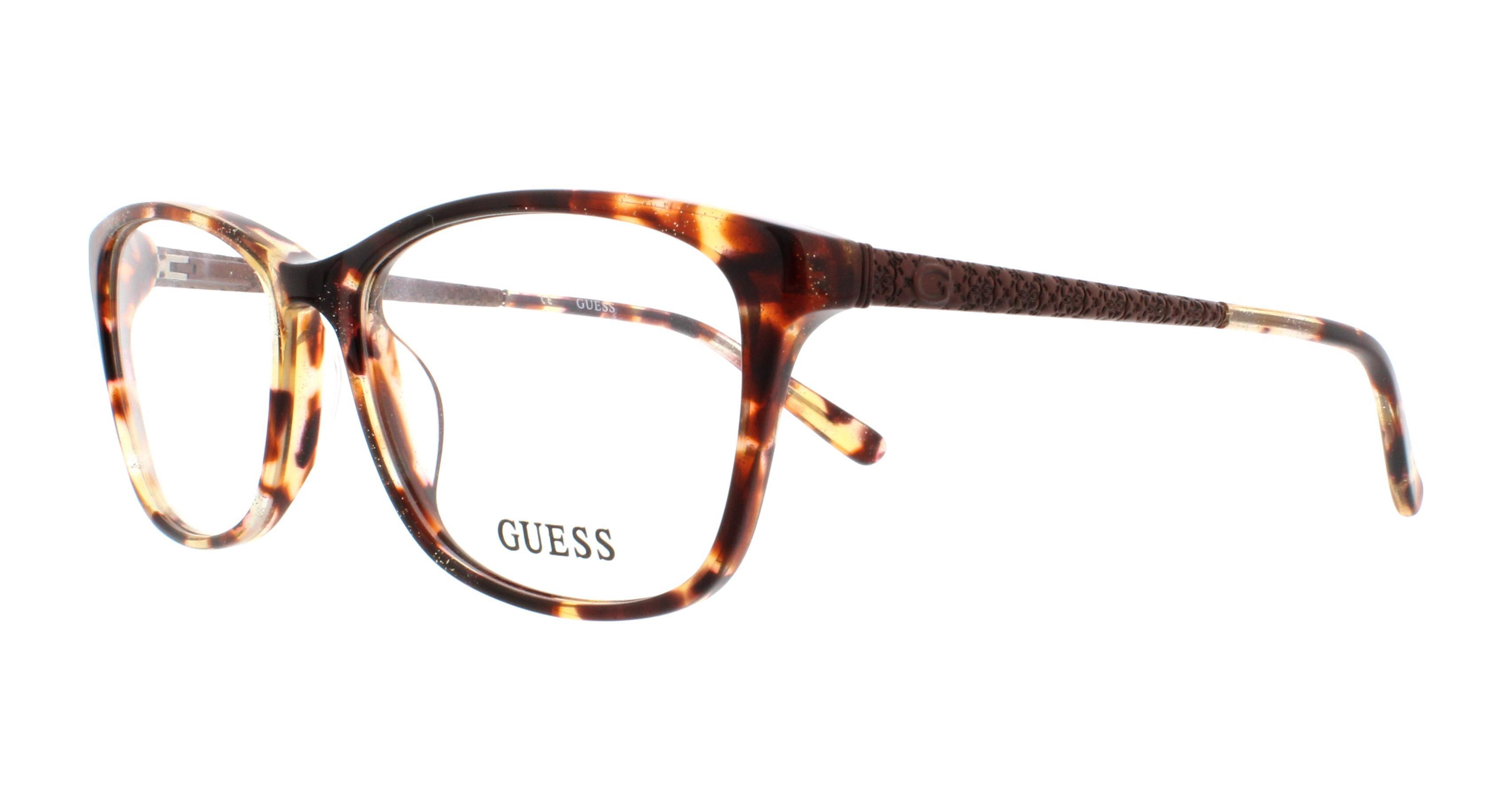 GUESS Eyeglasses GU2500 047 Light Brown 53MM 664689697489   eBay