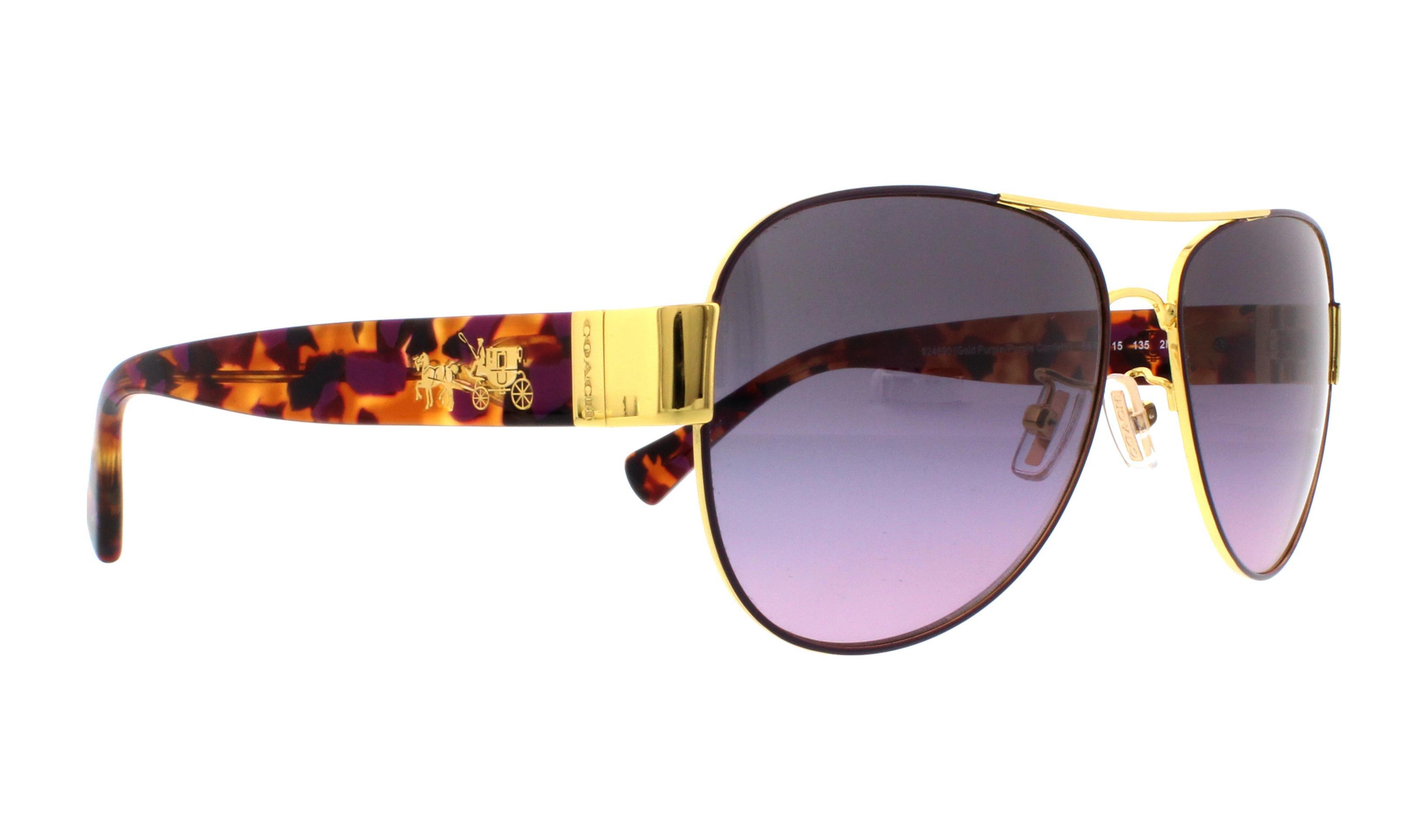 d1111e4bd7 ... clearance coach sunglasses hc7059 l138 924890 gold purple purple  confetti 58mm 597f5 8fae1