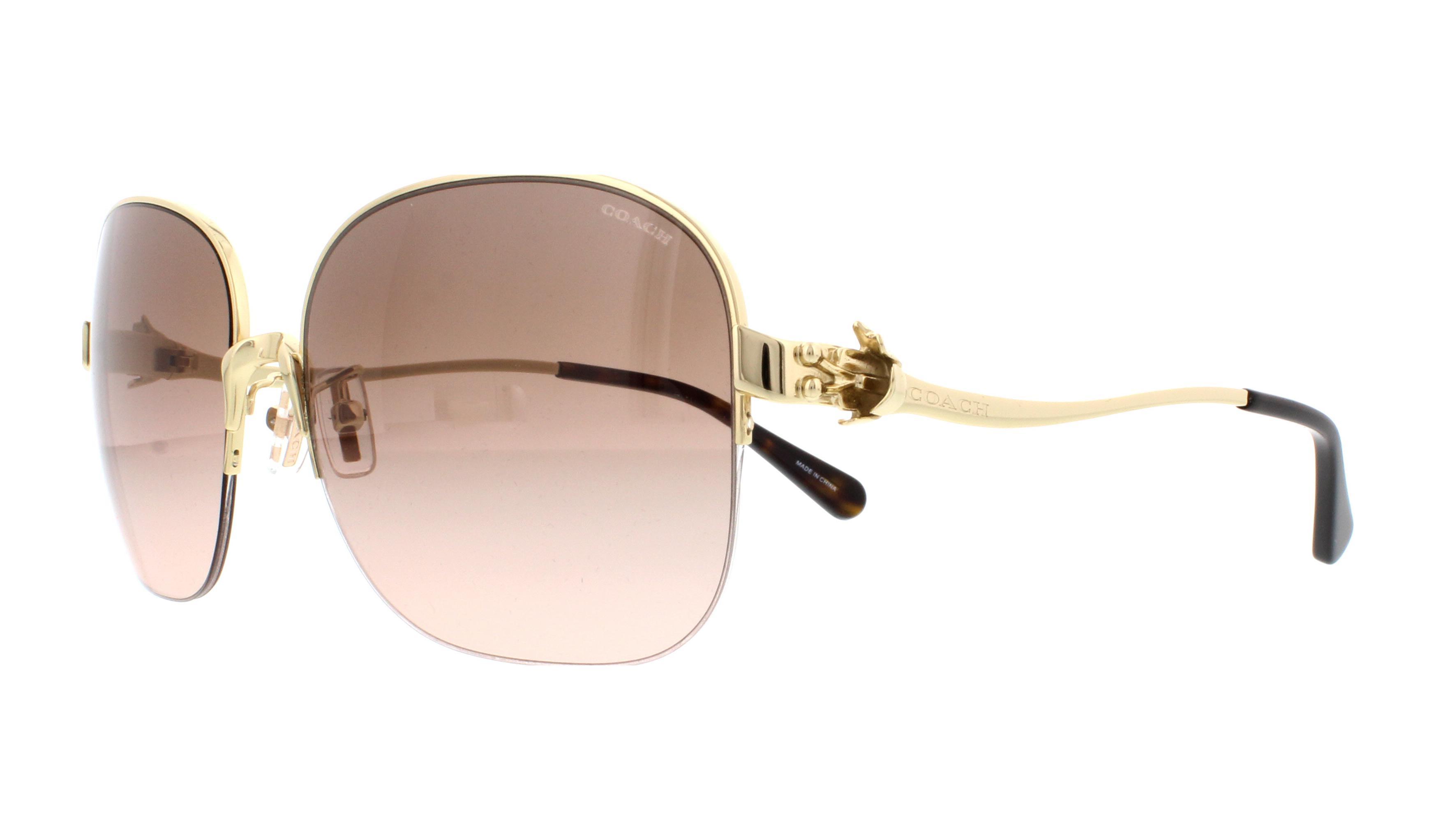 a0cac5c111 ... where can i buy coach sunglasses hc7068 l1609 929311 light gold dark  tortoise 58mm 31c02 6e83e