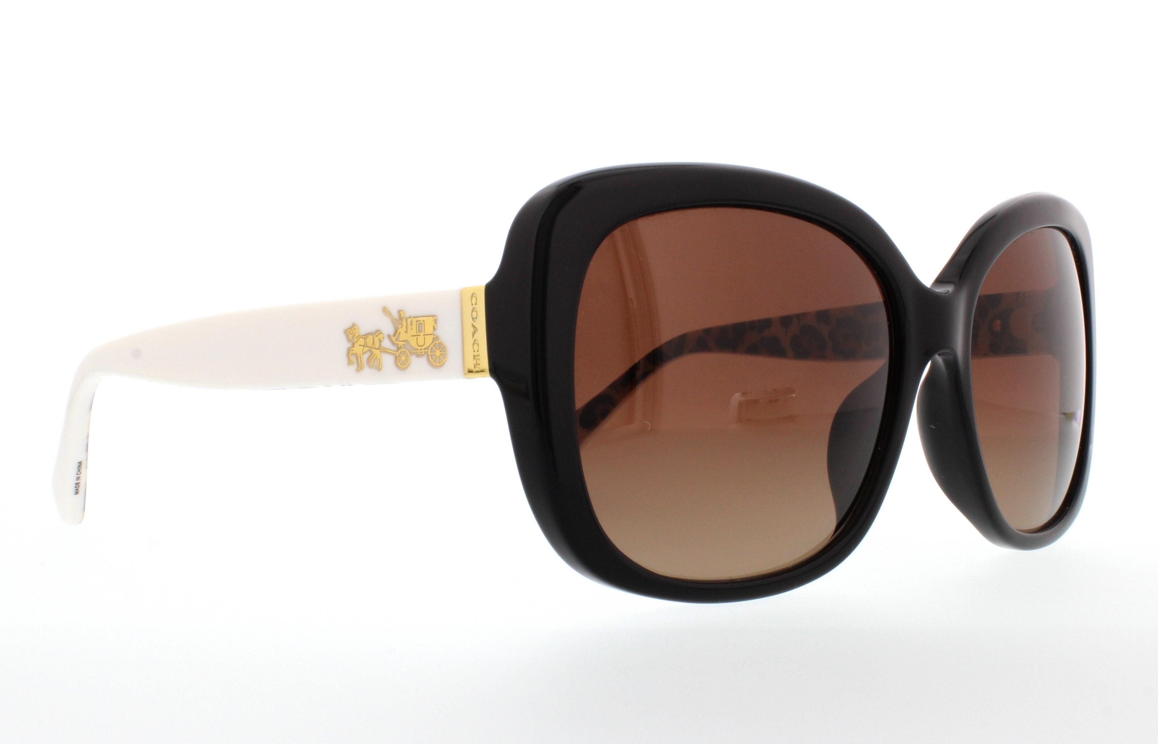 8813430a1098 ... low price coach sunglasses hc8158f l559 5336t5 black ivory wild beast  58mm 54244 59e5c