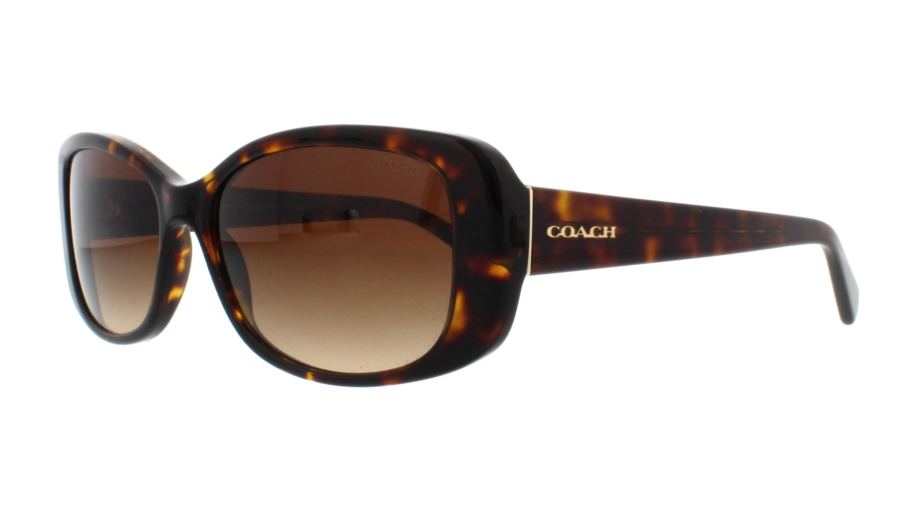 6e2d1b7002 COACH Sunglasses HC8168 L156 512013 Dark Tortoise 56MM 725125956253 ...