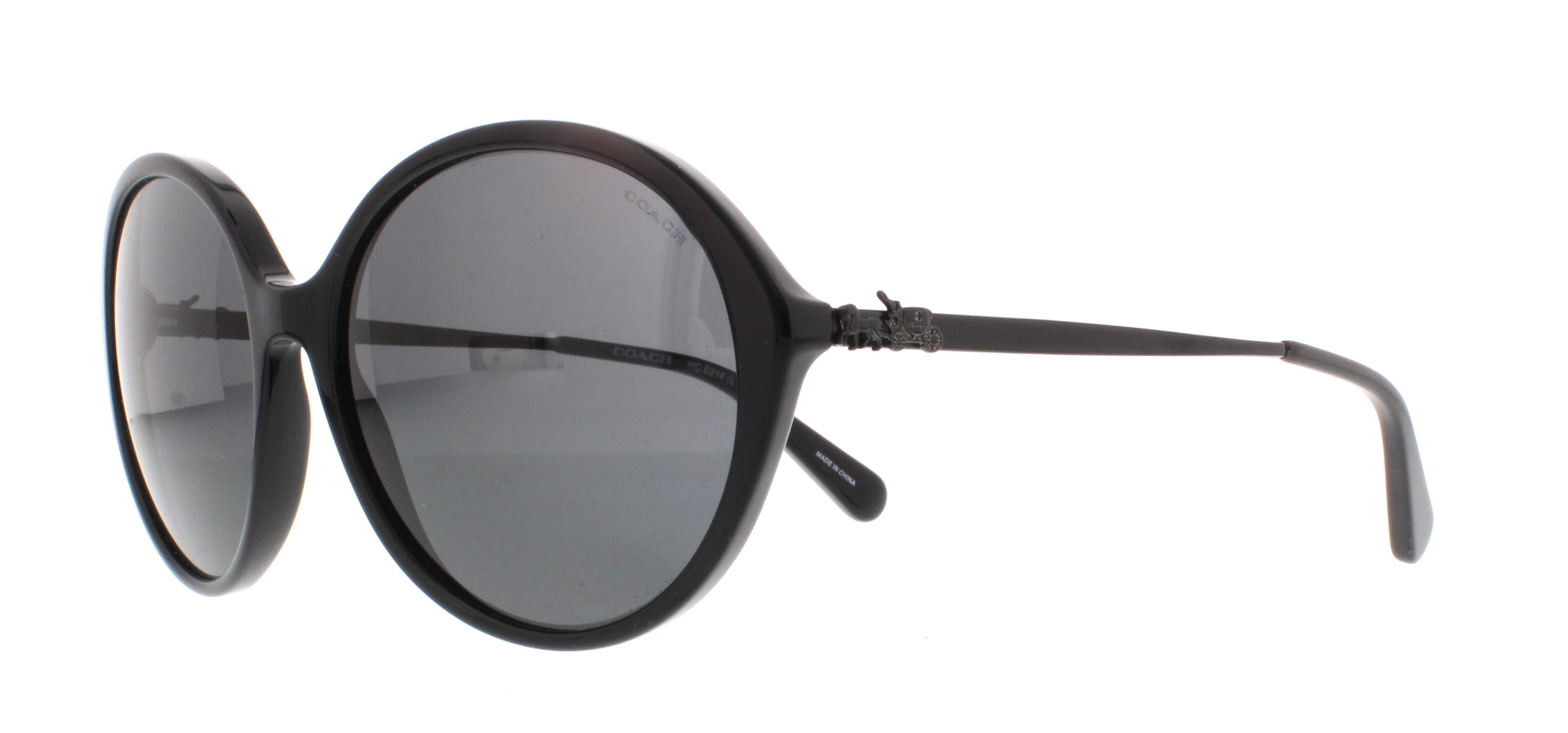 8923d441a9 ... canada coach sunglasses hc8214 548287 black 56mm 5597e 4b5dd