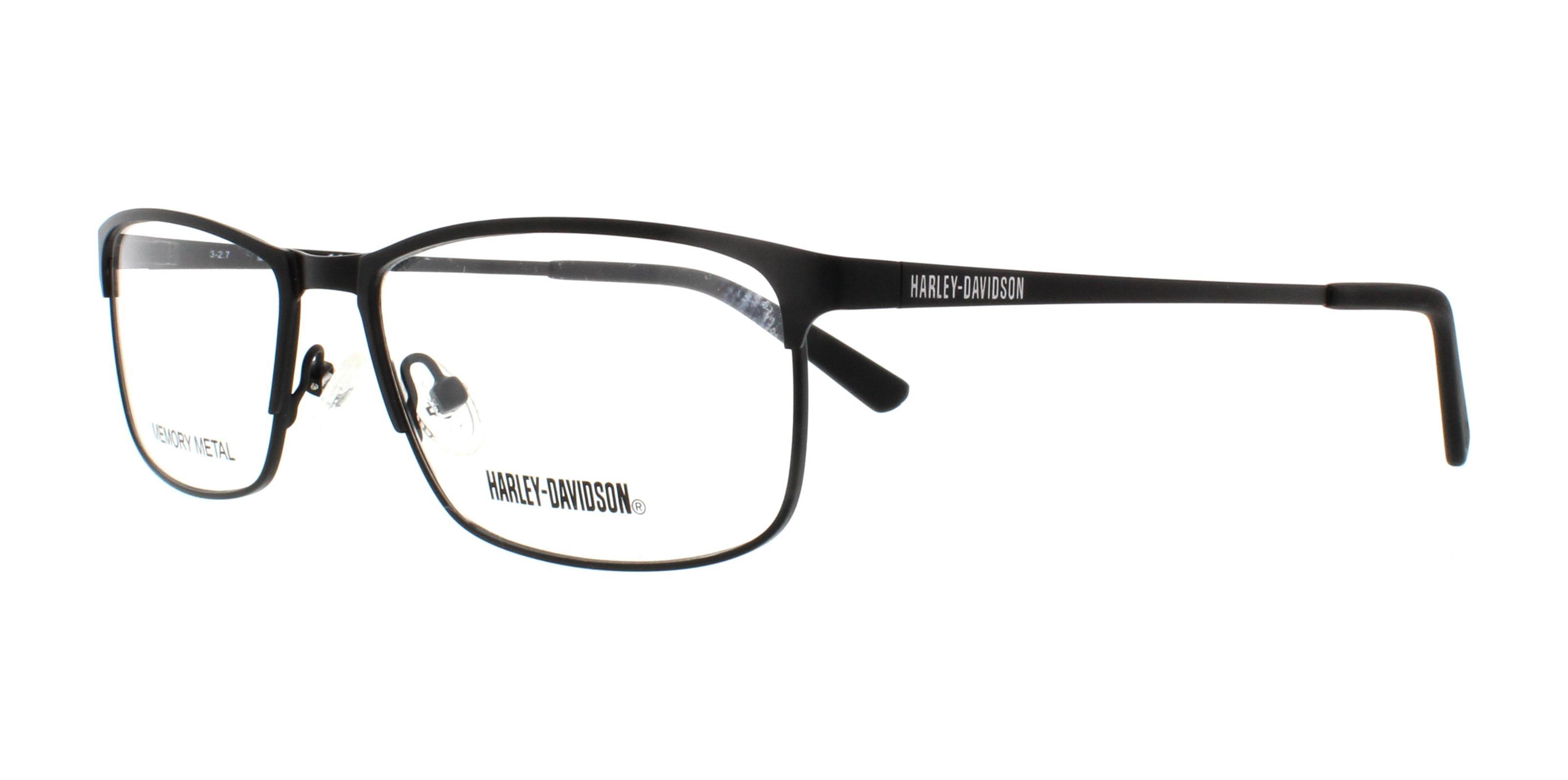 7c3110a731 HARLEY DAVIDSON Eyeglasses HD0772 002 Matte Black 58MM 664689965014 ...