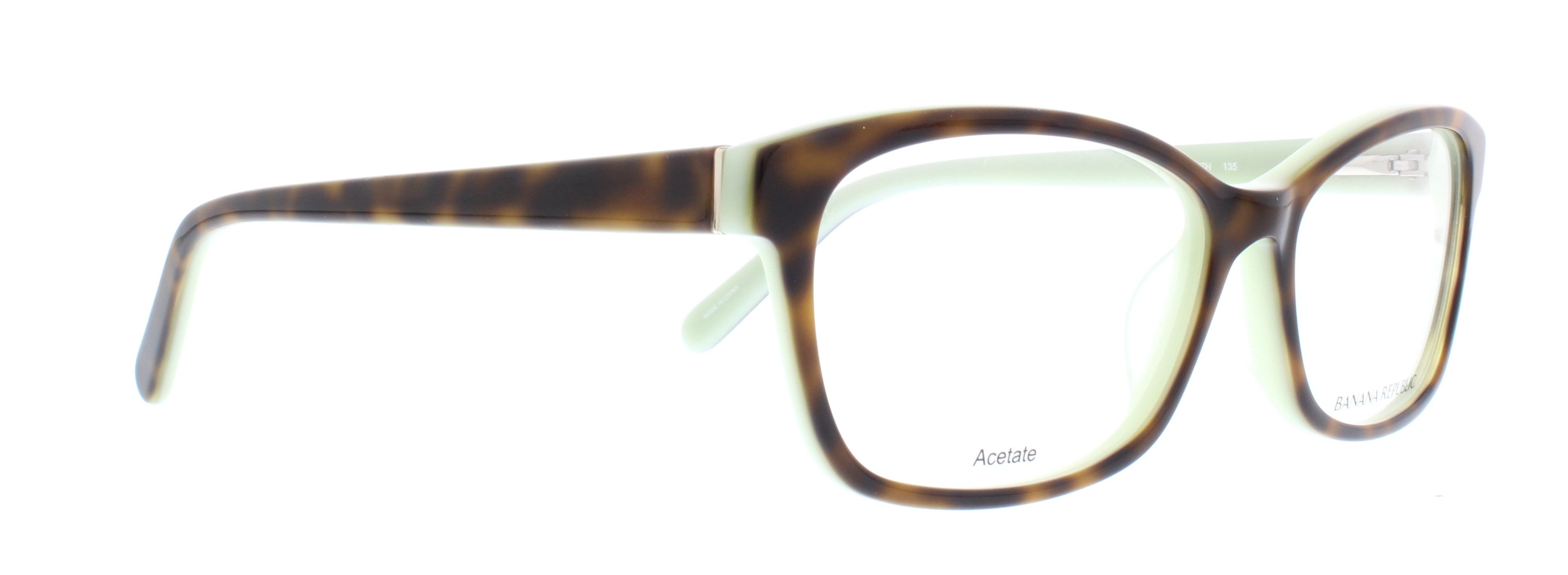 BANANA REPUBLIC Eyeglasses KHOLE 0JZH Tortoise Mint 53MM ...