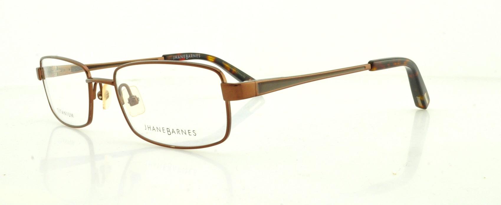 0c5d8b7120 JHANE BARNES Eyeglasses MACROS Brown 51MM 715317851855