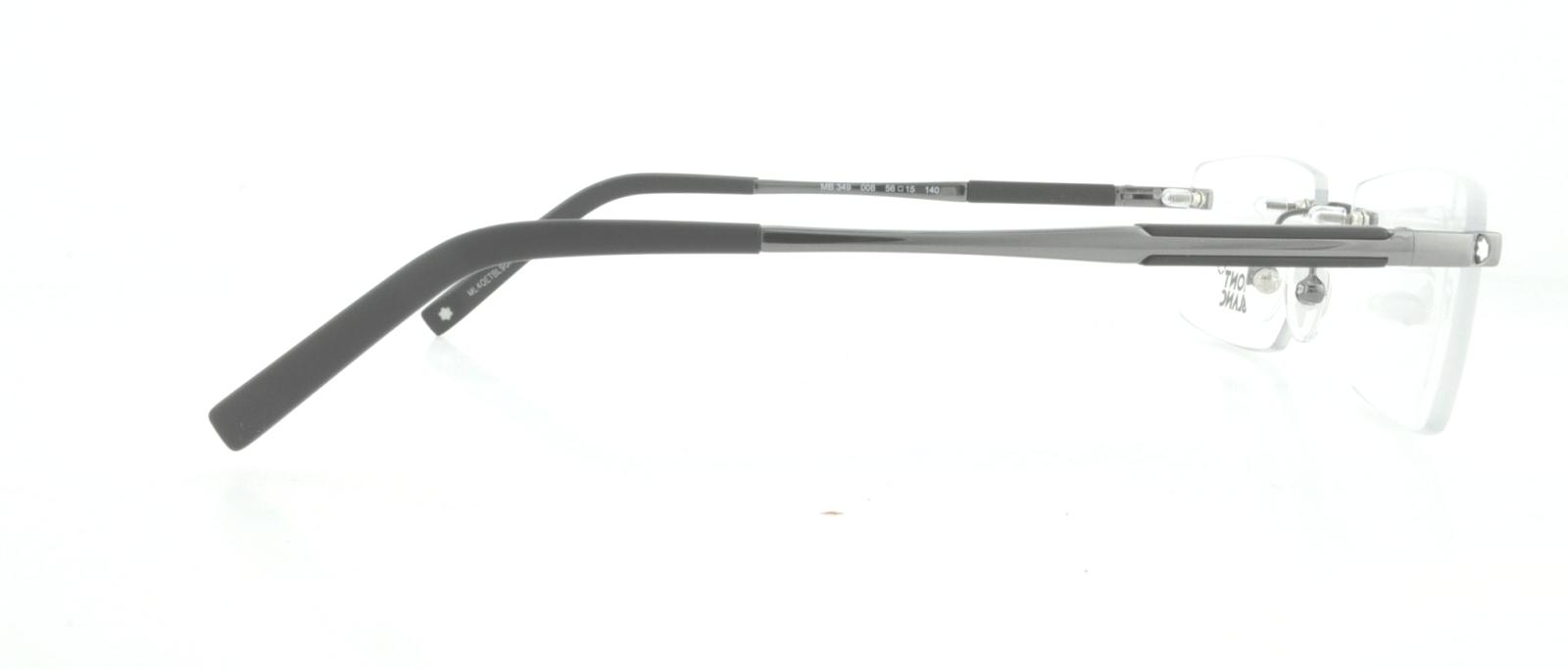 af2f7c8186 Mont Blanc Mb0349 Eyeglass Frames - Best Glasses Cnapracticetesting ...