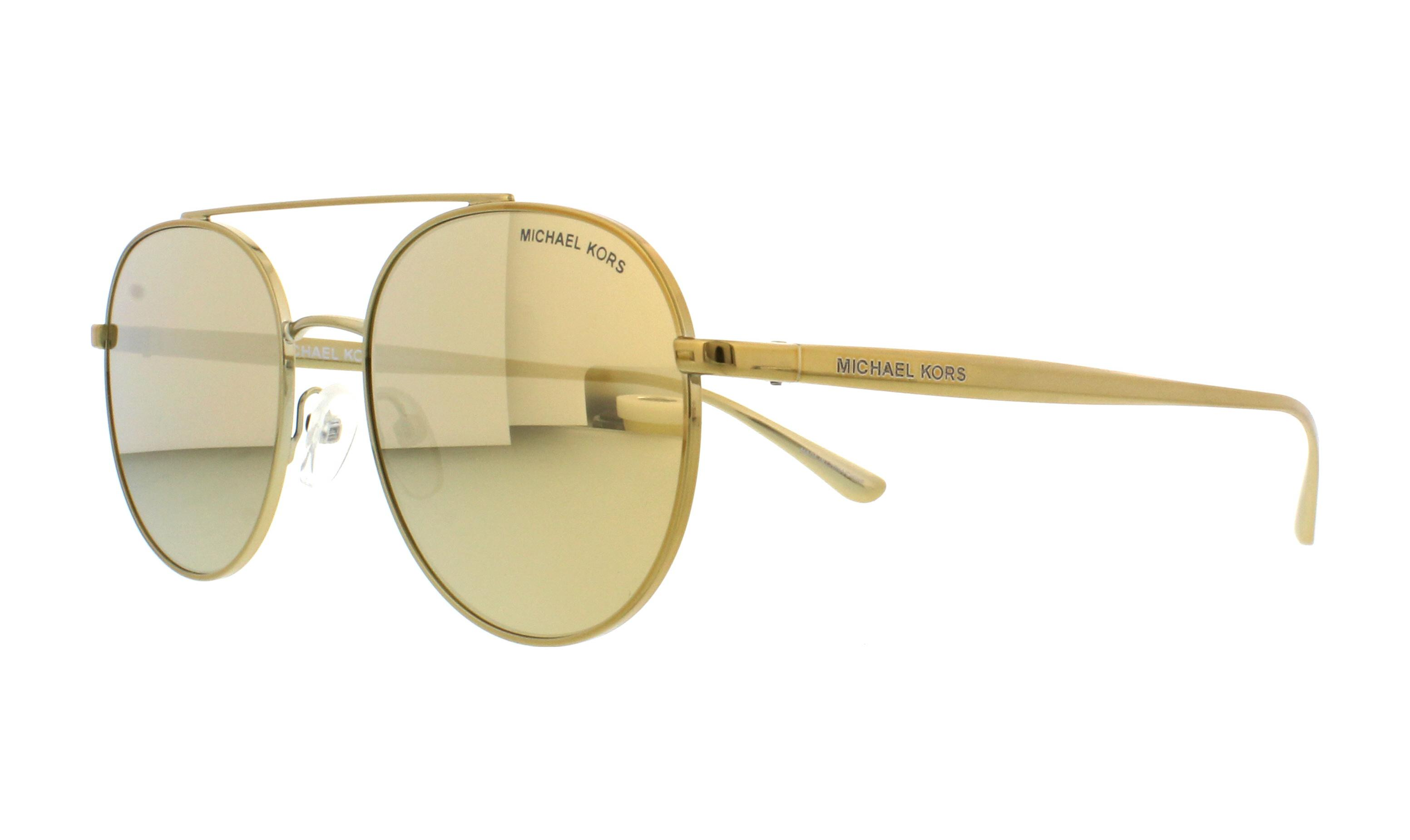 fb6879dd2ae MICHAEL KORS Sunglasses MK1021 LON 11687P Gold-Tone 53MM ...