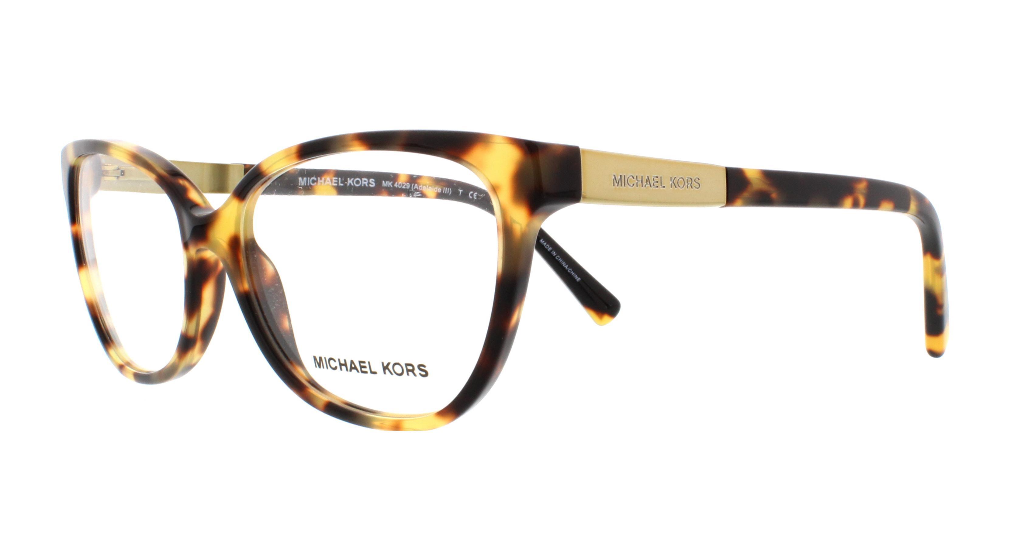 MICHAEL KORS Eyeglasses MK4029 ADELAIDE III 3119 Tokyo Tortoise 53MM ...