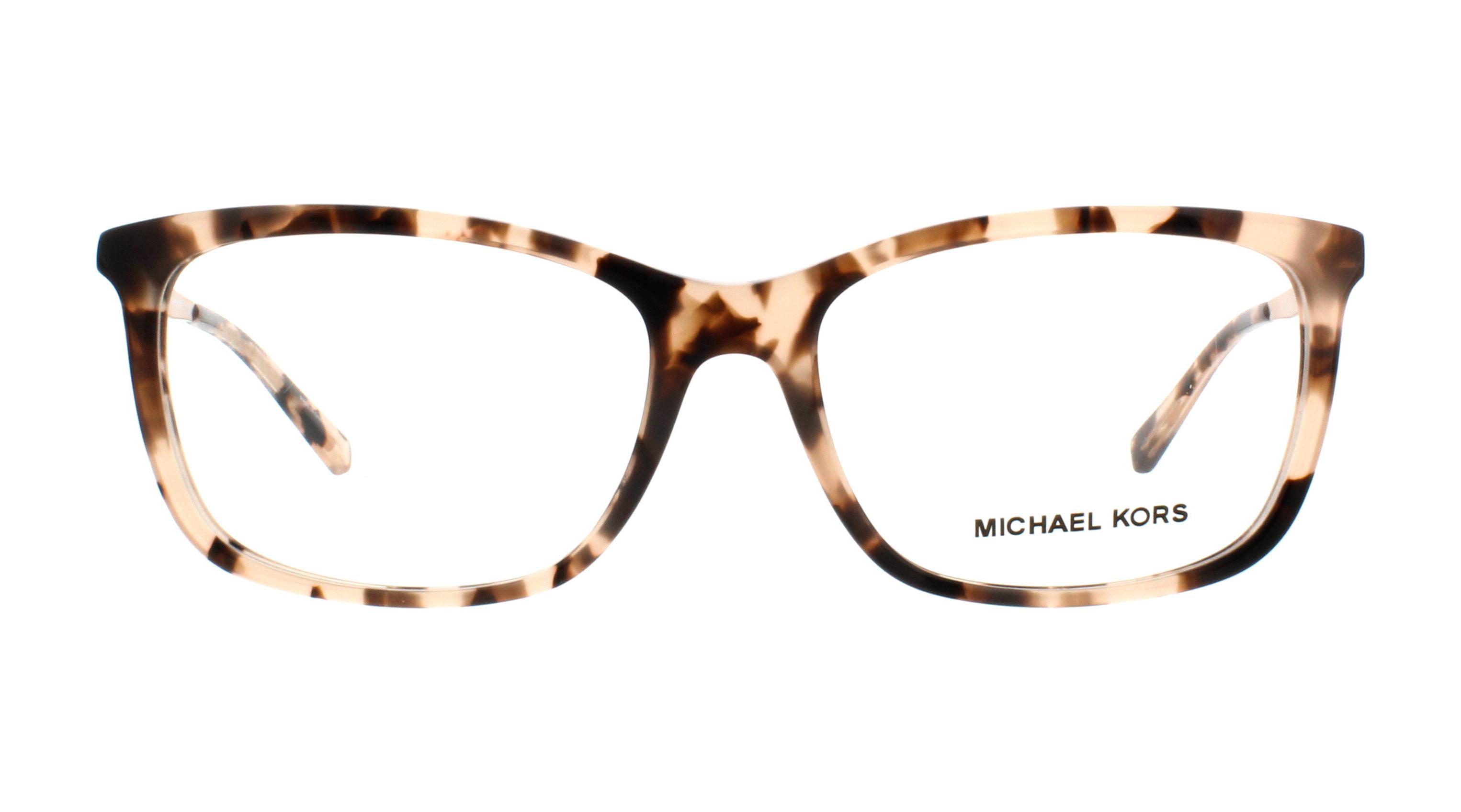 50f07cb387 MICHAEL KORS Eyeglasses MK4030 VIVIANNA II 3162 Pink Tortoise 54MM ...