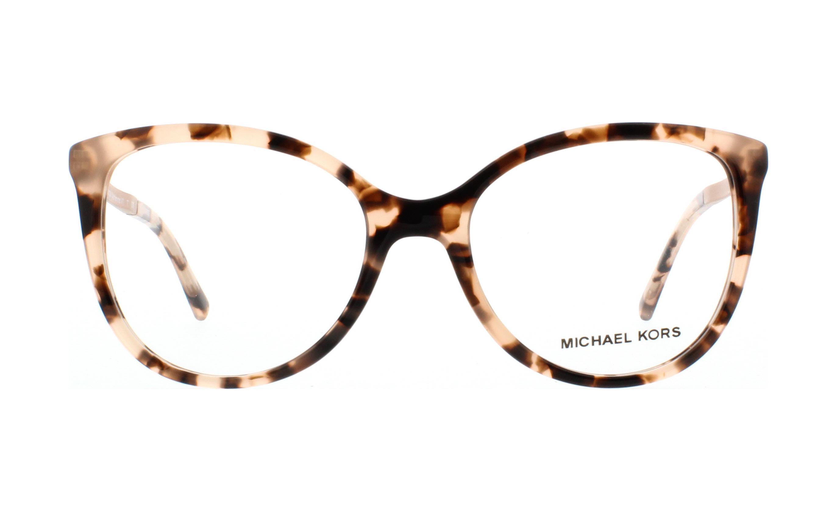 MICHAEL KORS Eyeglasses MK4034 ANTHEIA 3205 Pink Tortoise 52MM ...