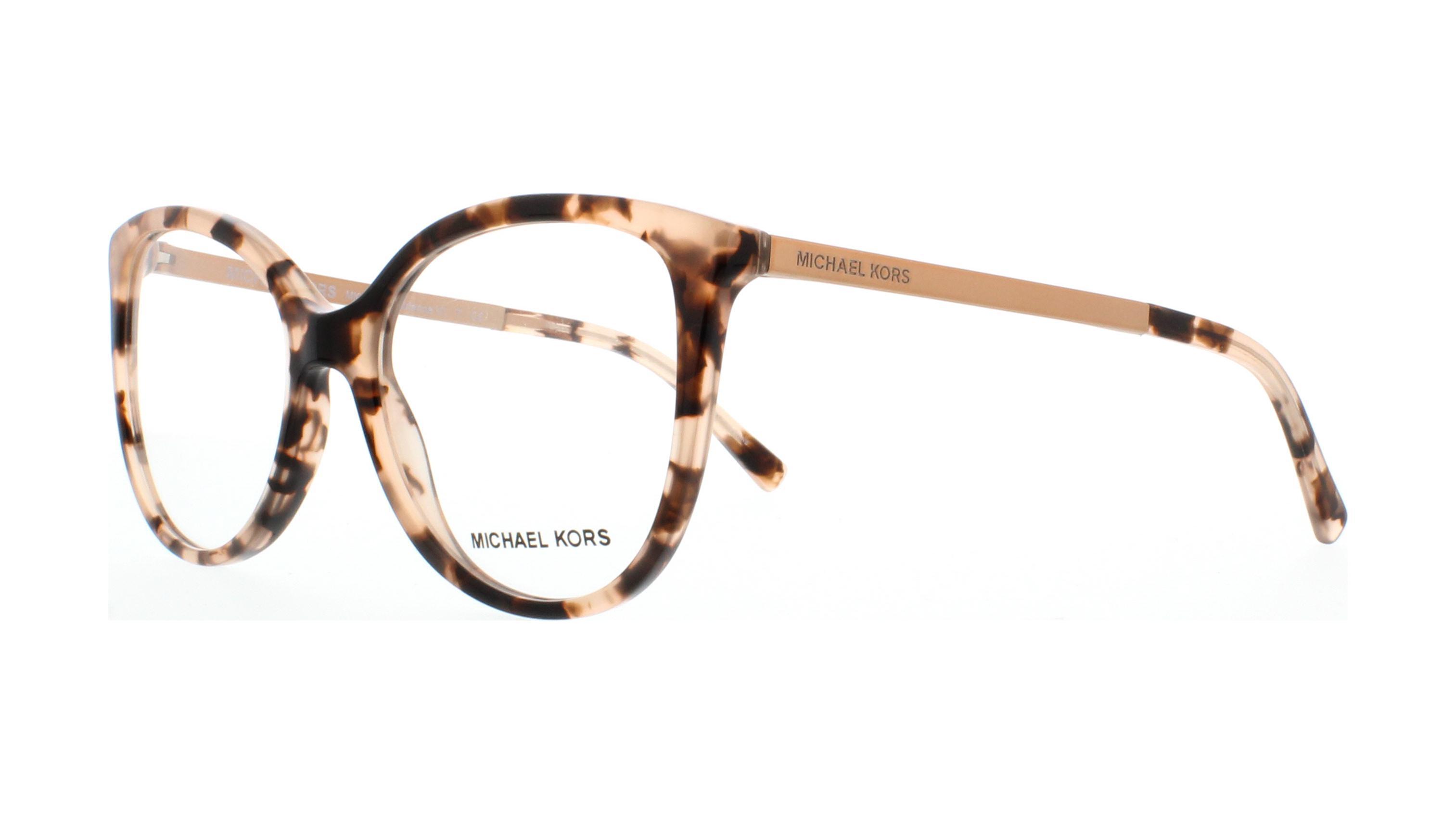 f67d52fb51c0 MICHAEL KORS Eyeglasses MK4034 ANTHEIA 3205 Pink Tortoise 52MM ...