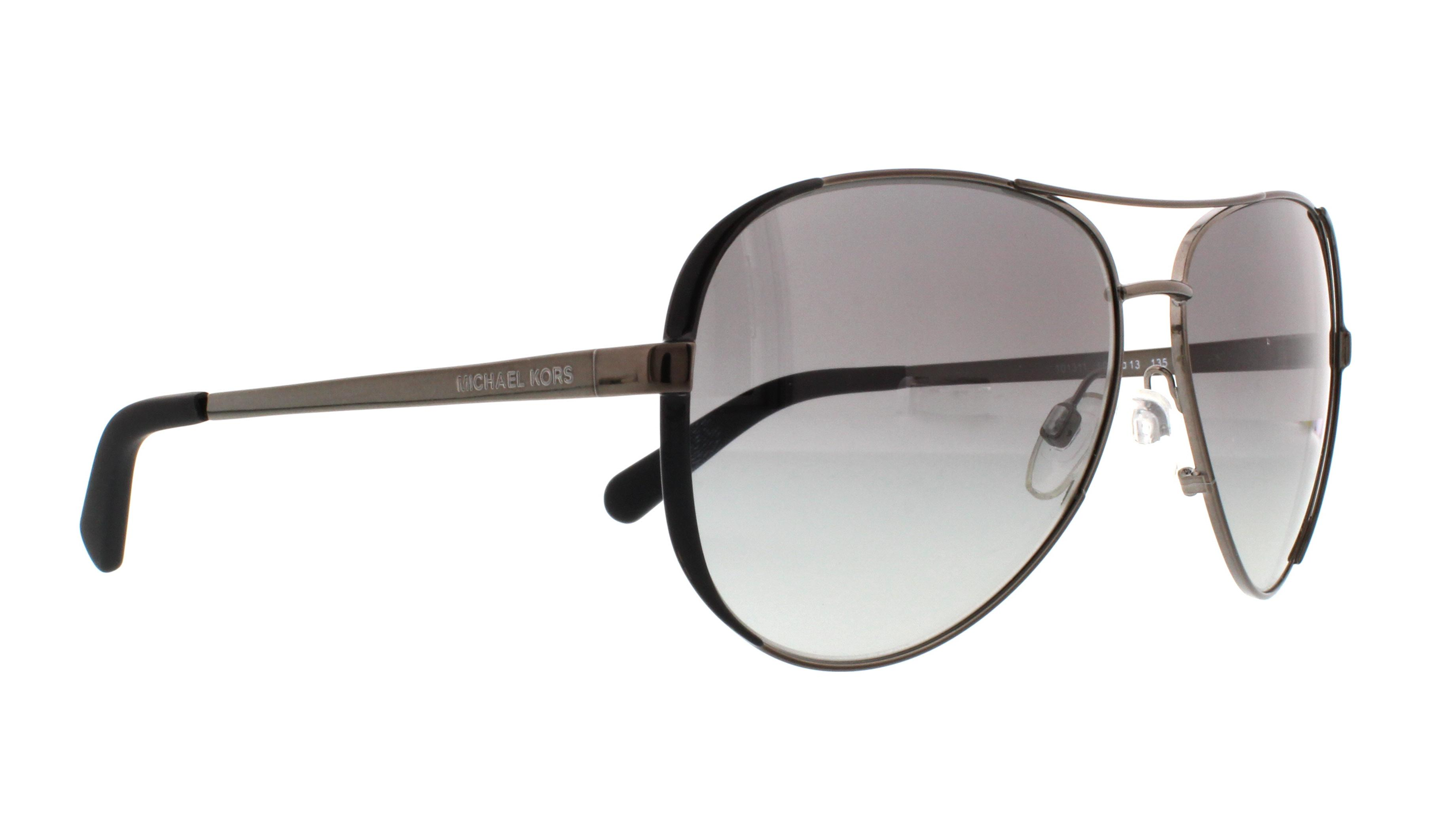 Michael Kors Chelsea Sonnenbrille Gunmetal 101311 59mm CFzUn8QA