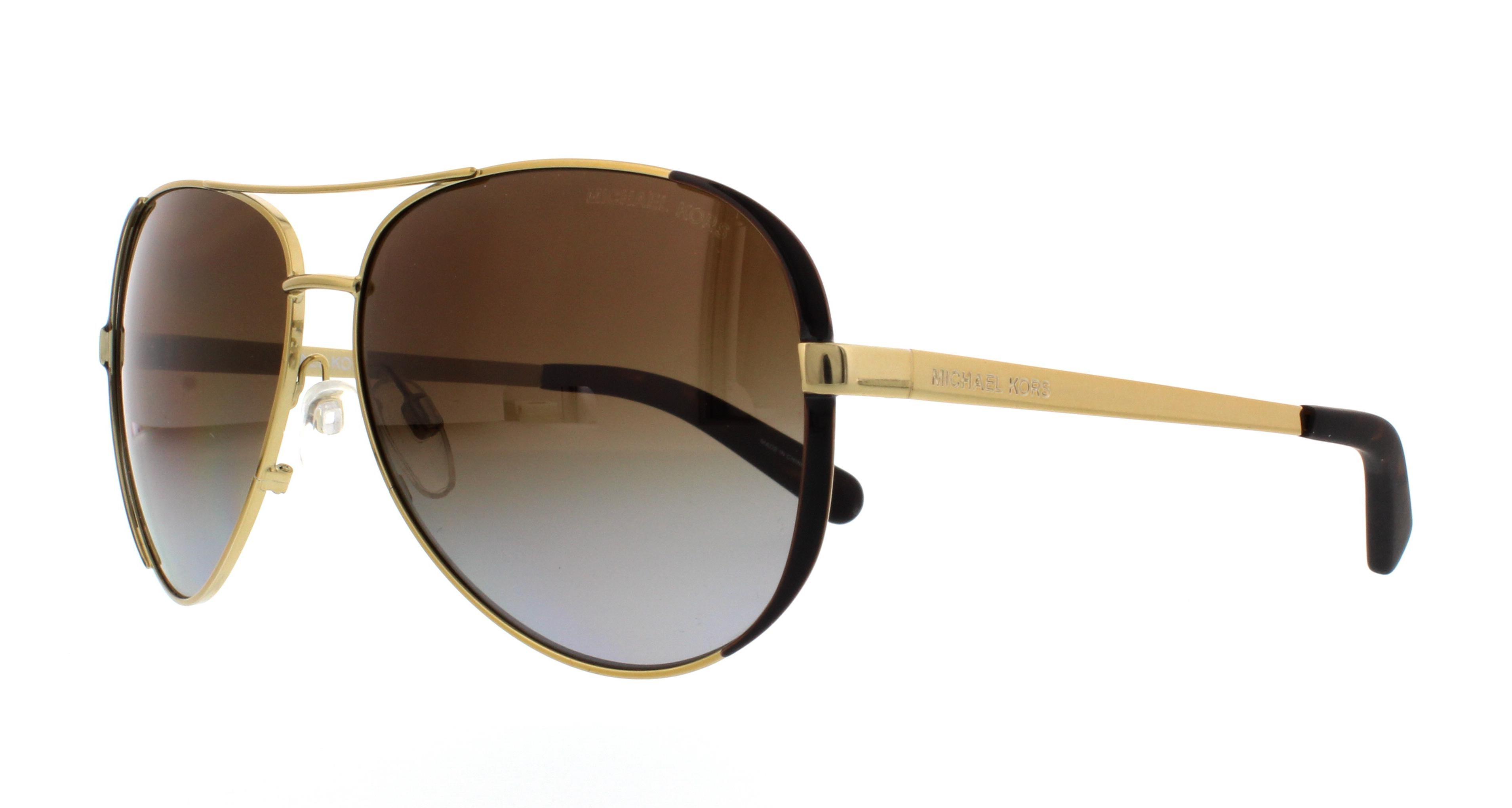 Michael Kors Chelsea Sonnenbrille Gold 1014T5 Polarisiert 59mm kCsD6w85