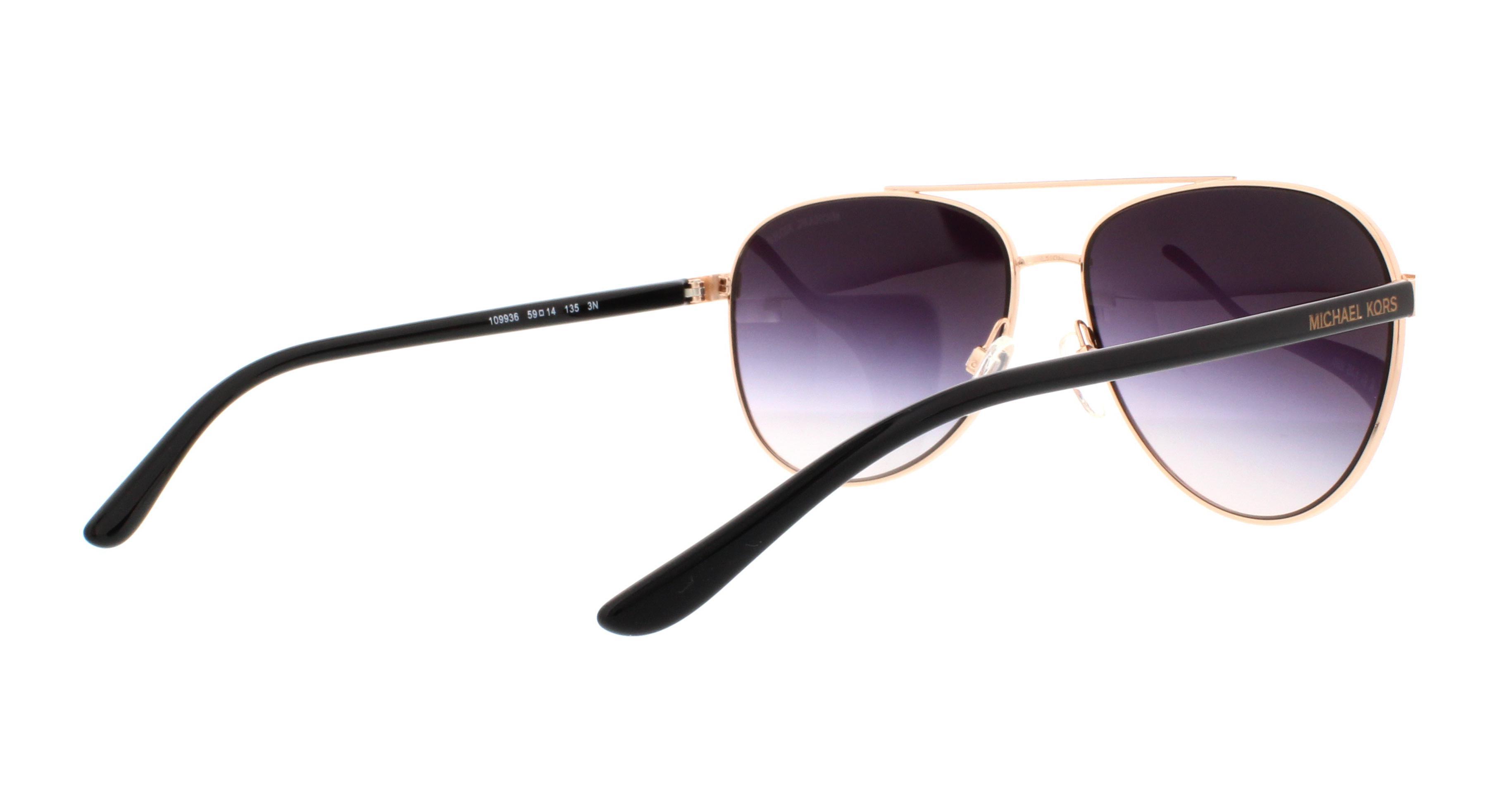59fd43a6bb Michael Kors Hvar Sunglasses Rose Gold