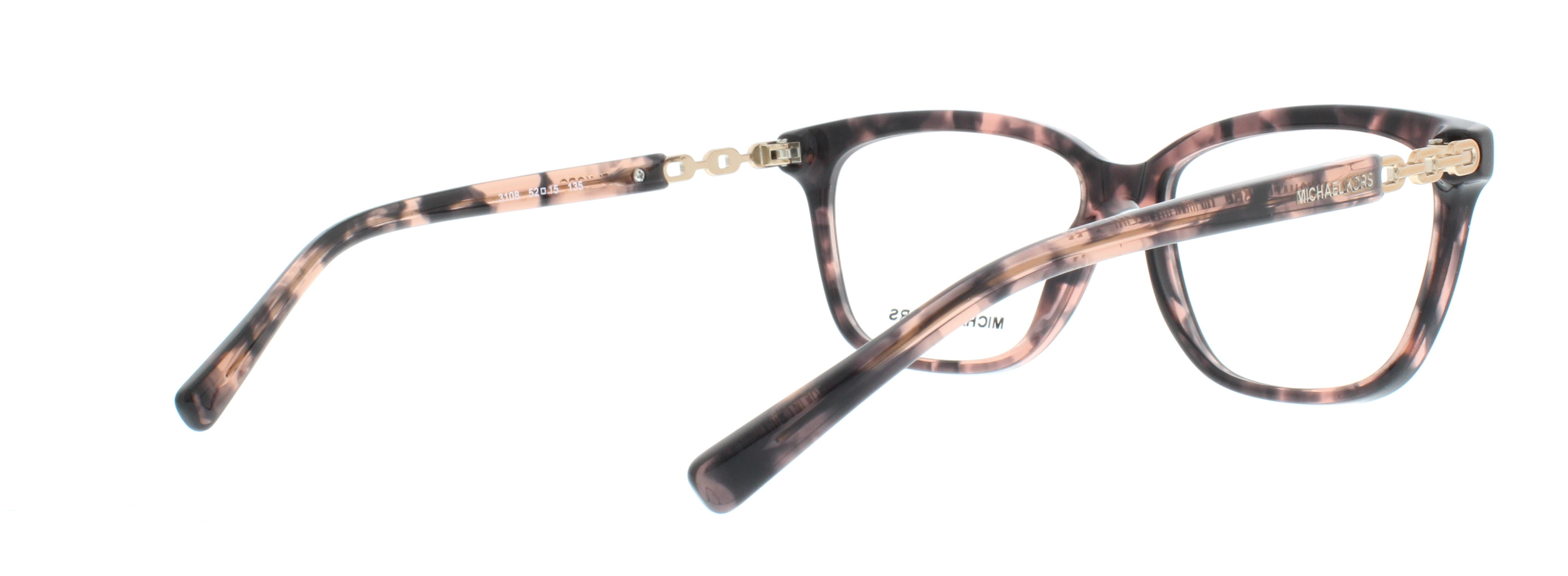 MICHAEL KORS Eyeglasses MK8018 SABINA IV 3108 Pink Tortoise/Rose ...