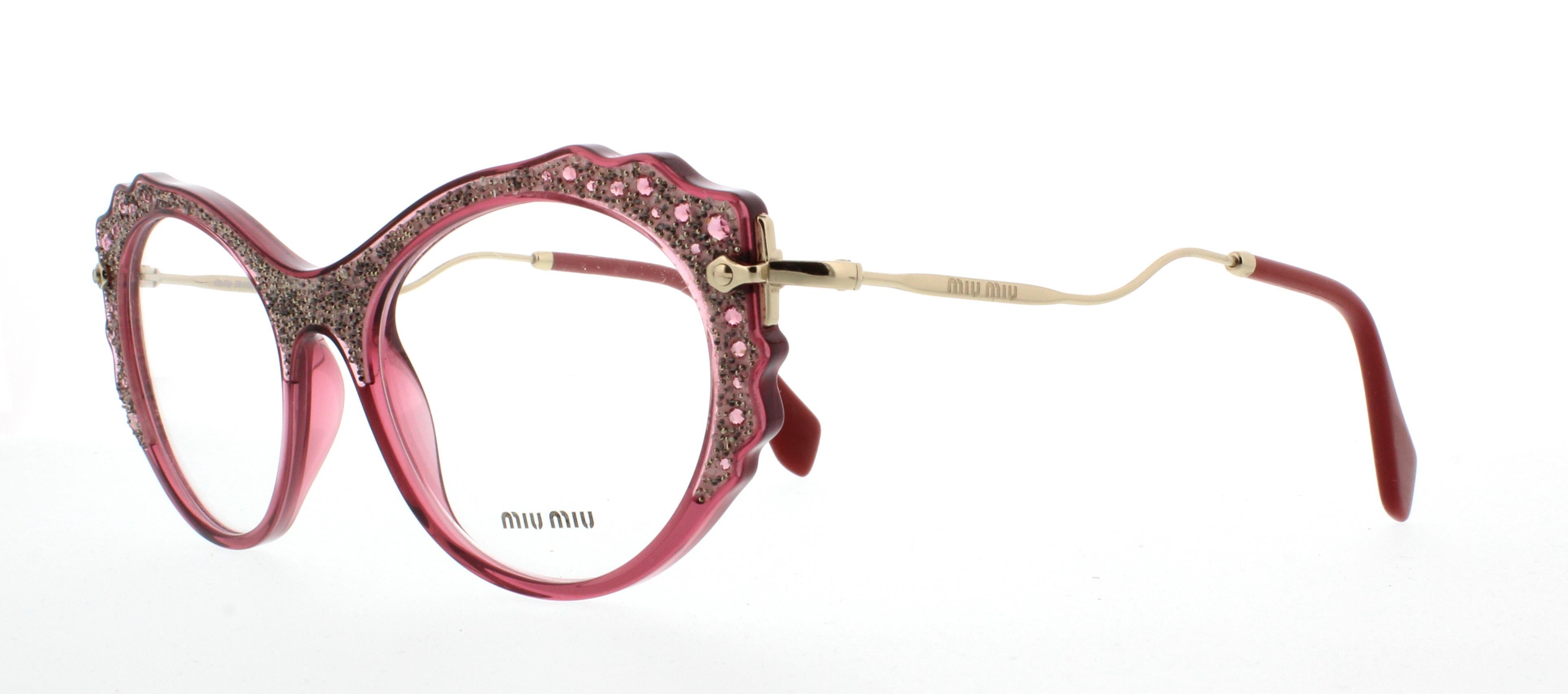 Occhiali da Vista Miu Miu MU01PV USU1O1 PPQQ4As