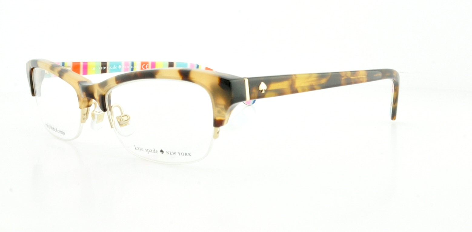 Details about KATE SPADE Eyeglasses MARIKA 0ESP Camel Tortoise 49MM