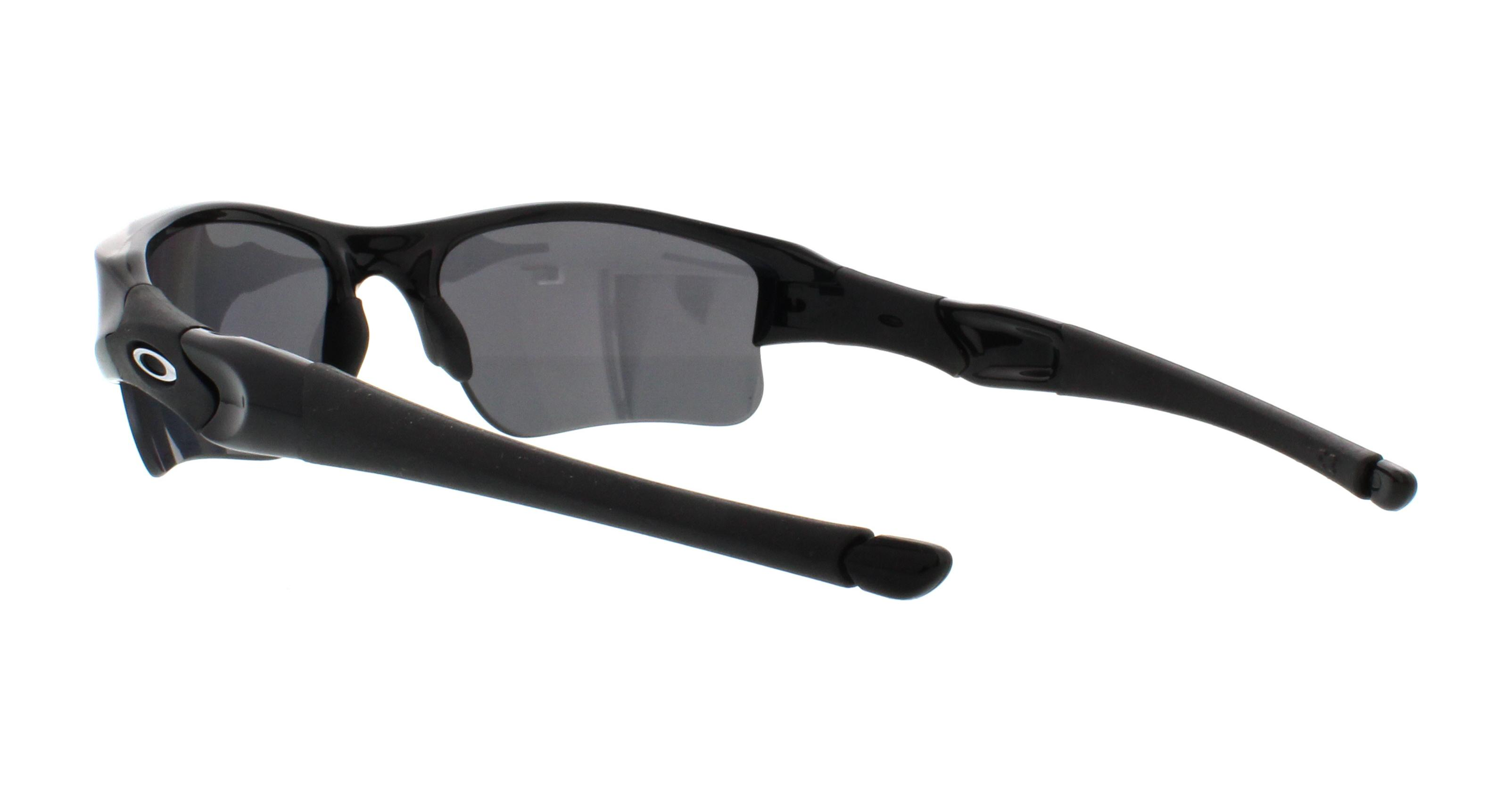 Oakley Sunglasses Flak Jacket Xlj 12 903 Jet Black 63mm