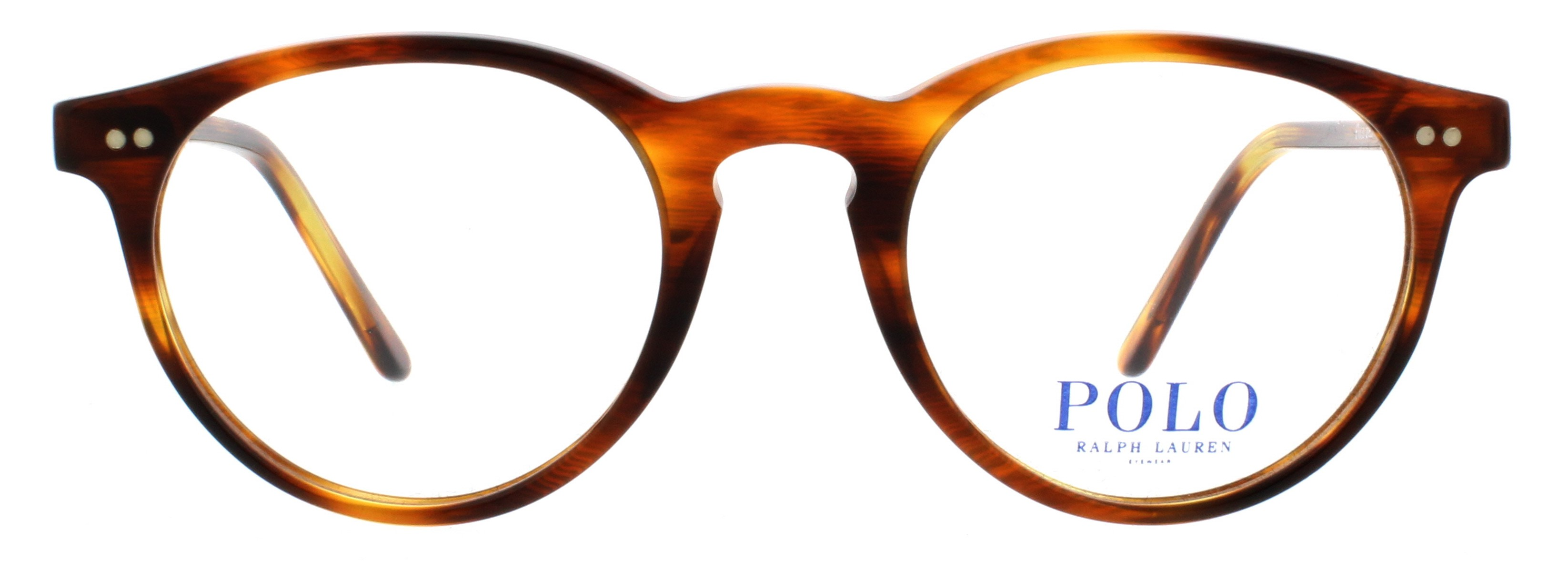 Details about POLO Eyeglasses PH2083 5007 Havana Striped 46MM