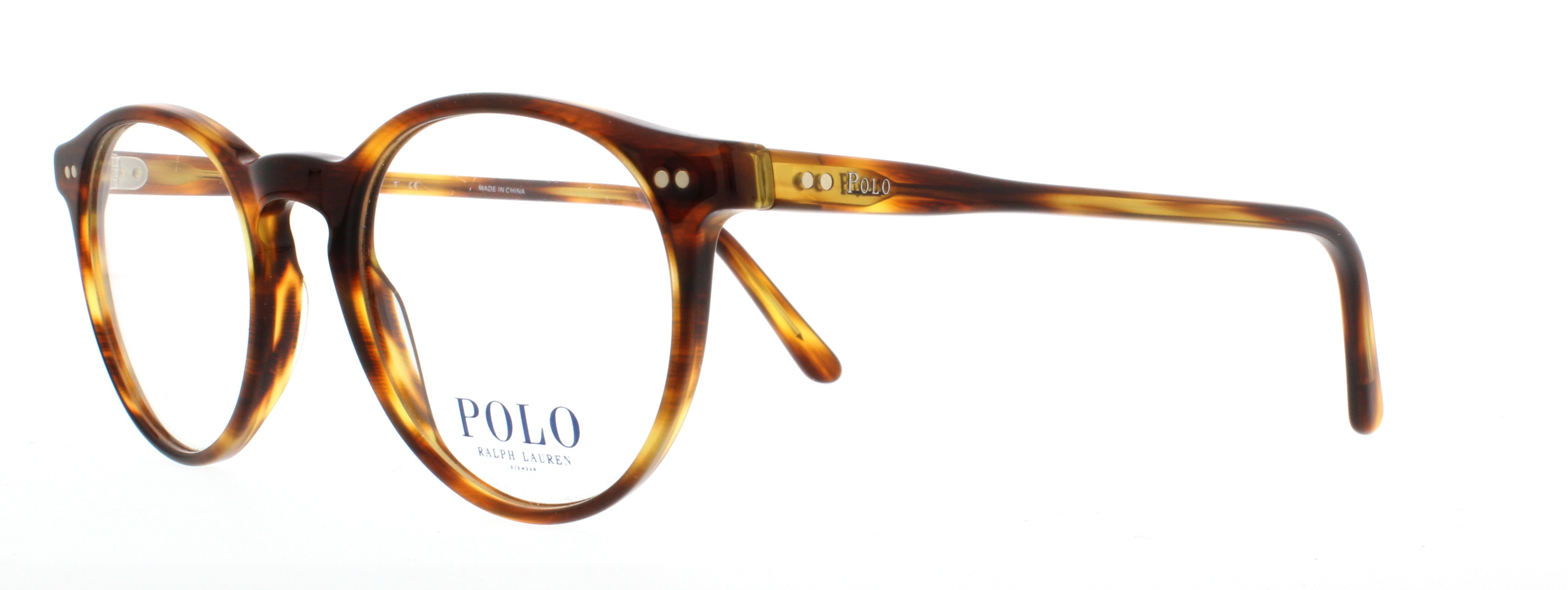 POLO Eyeglasses PH2083 5007 Havana Striped 48MM 713132376980 | eBay