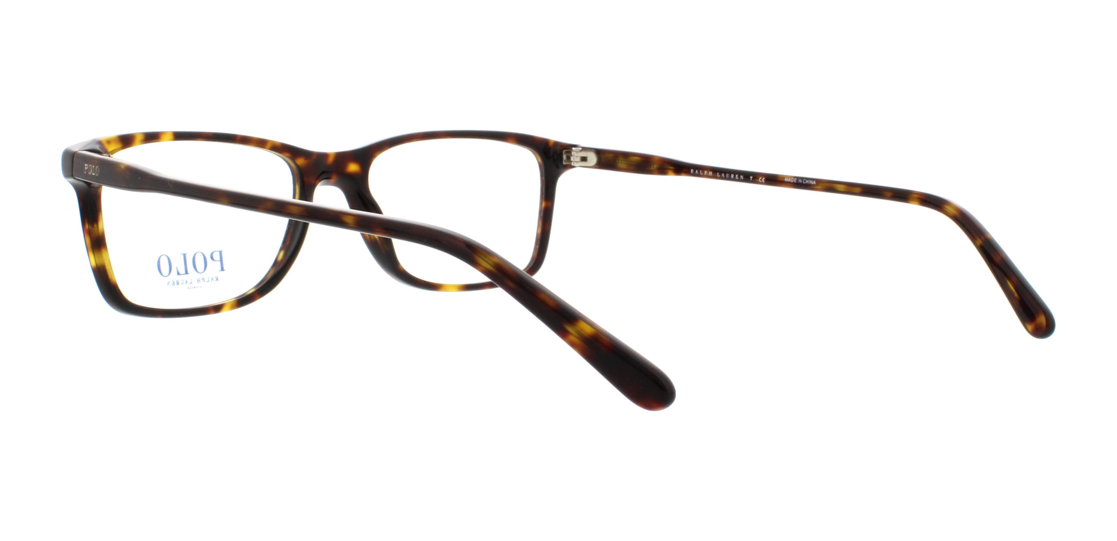 POLO Eyeglasses PH2155 5003 Shiny Dark Havana 54MM | eBay