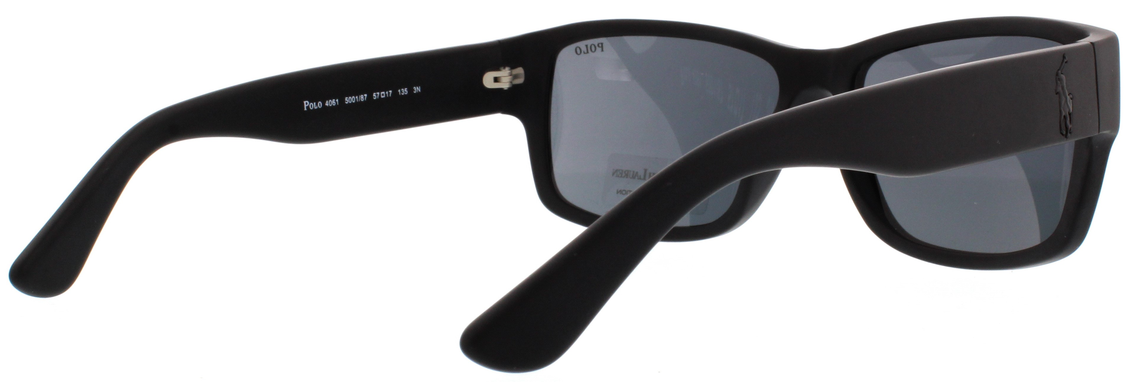 886498b7799 POLO Sunglasses PH4061 500187 Matte Black 57MM 713132375631