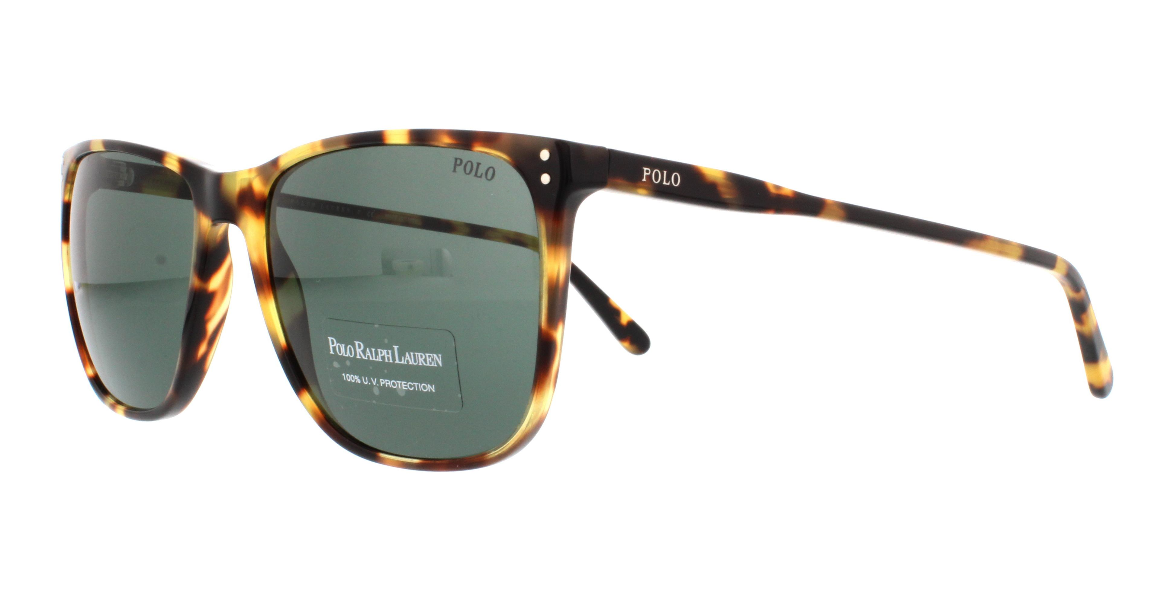 Polo Ralph Lauren PH4102 Sonnenbrille Tortoise 500471 55mm ...