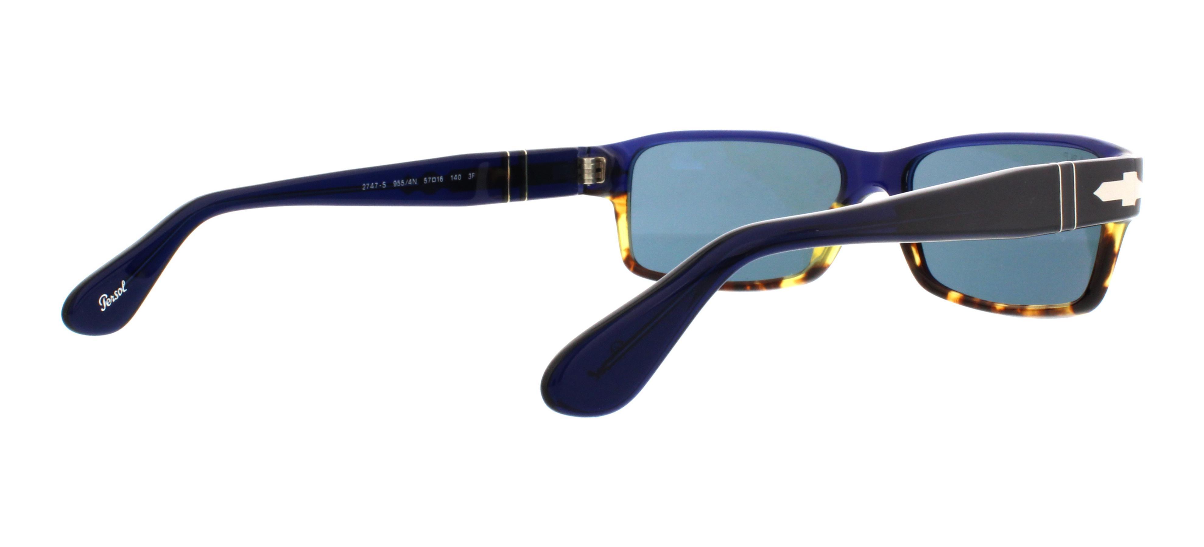a5f6efb8585 PERSOL Sunglasses PO2747S 955 4N Havana Blue 57MM 200124469336