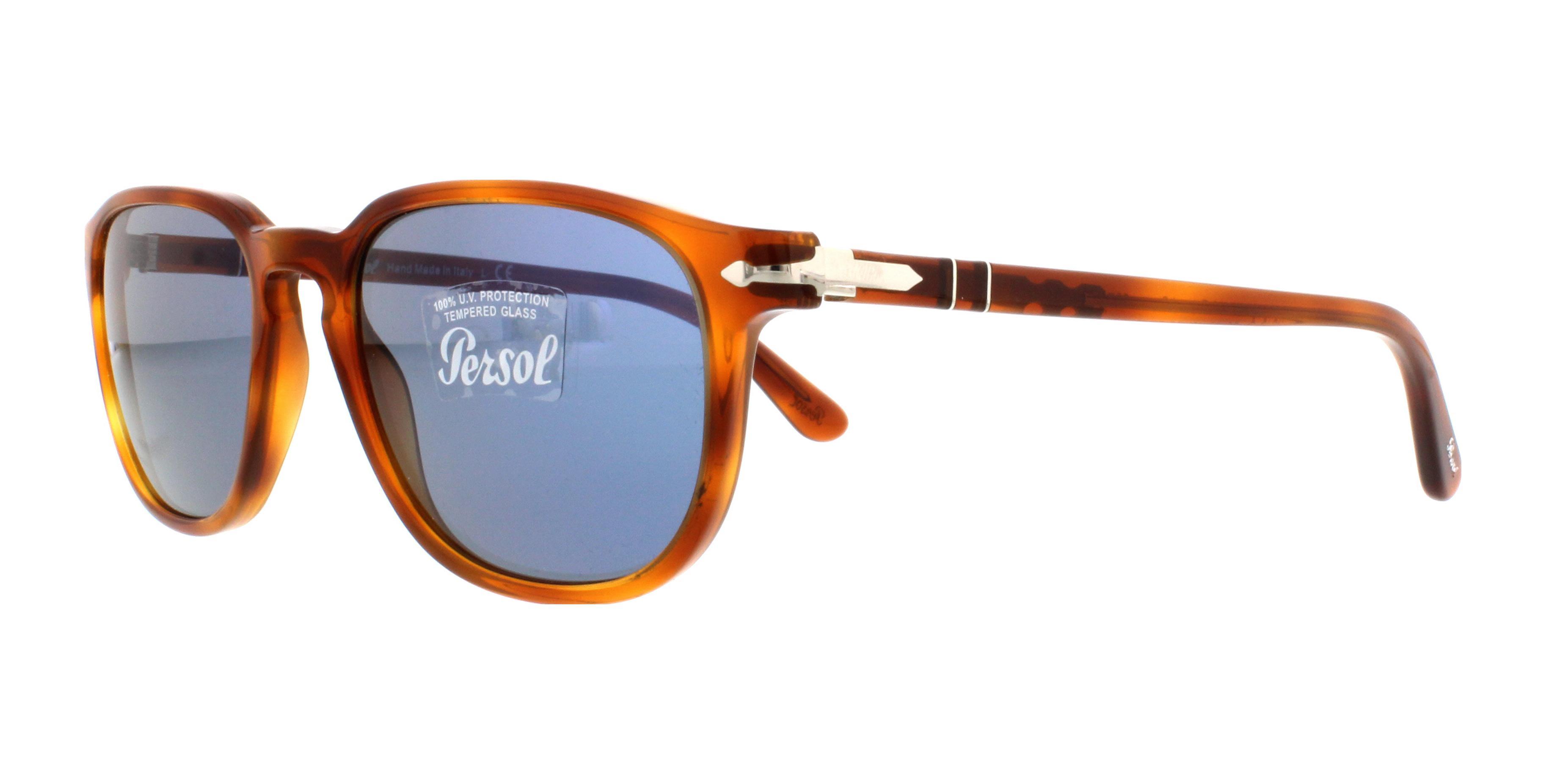 Persol PO3019S Sonnenbrille Tortoise 96/56 52mm tKmev