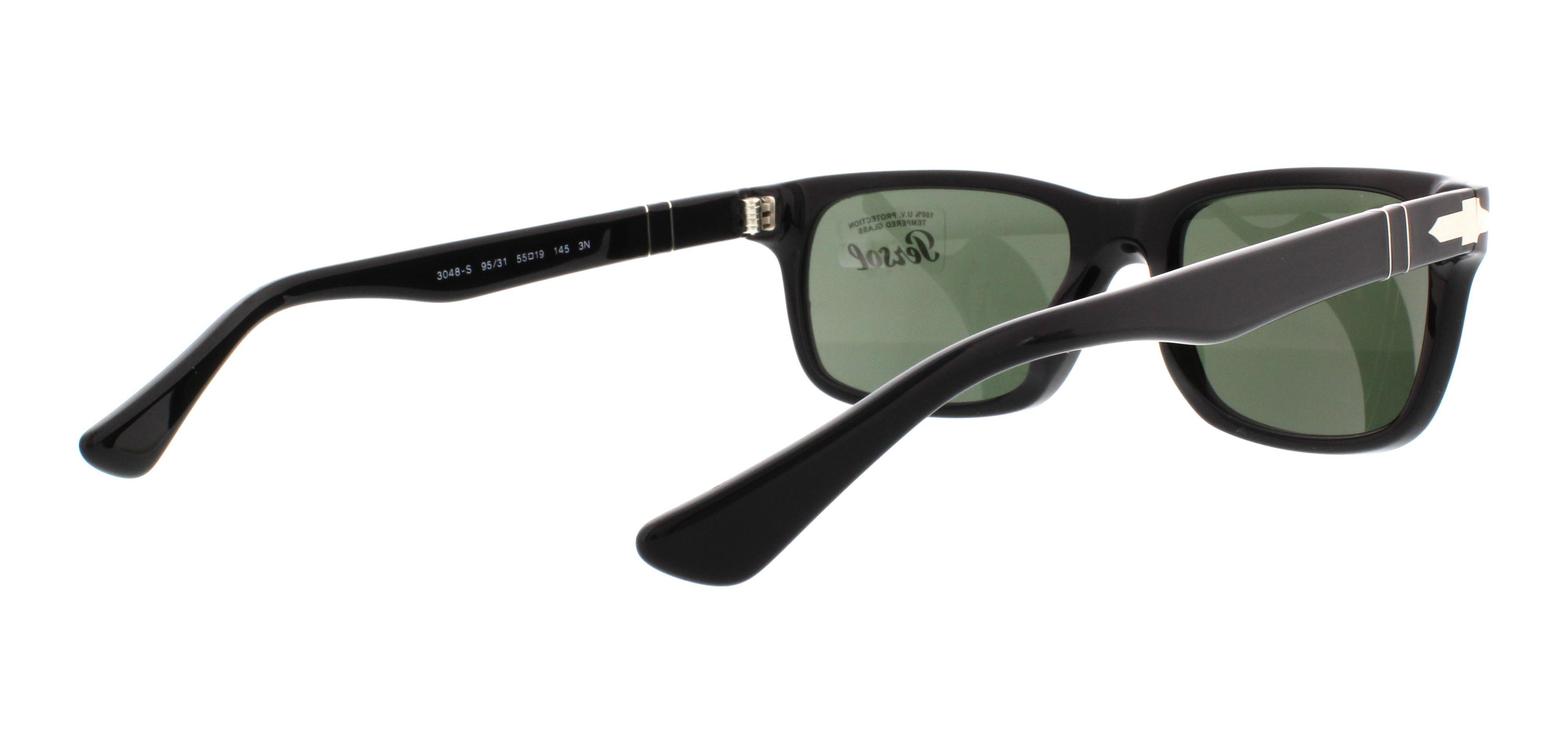 PERSOL Sunglasses PO3048S 95/31 Black 55MM