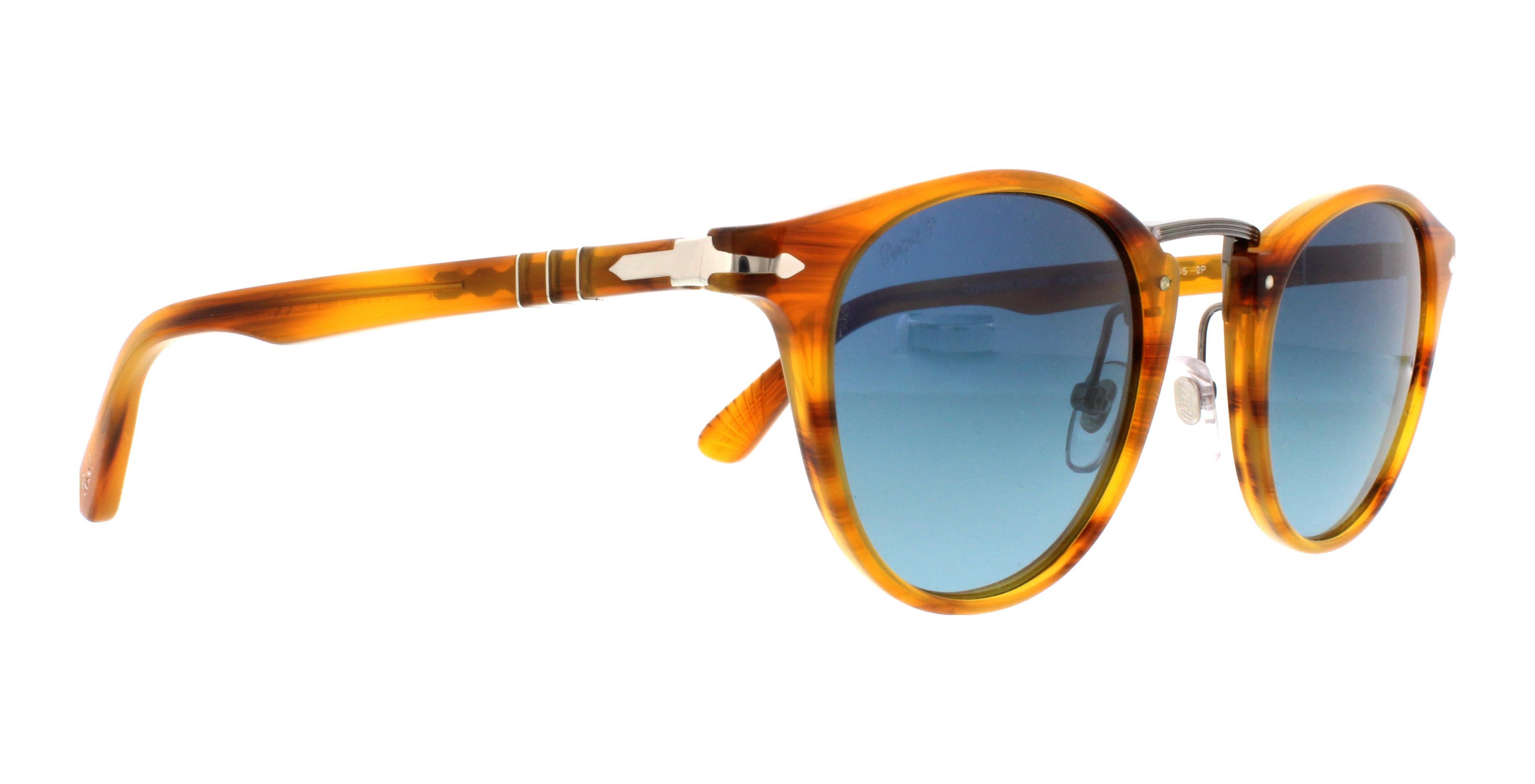 6105c2ee57 ... PERSOL Sunglasses PO3108S 960S3 Striped Brown 49MM wholesale price  3b573 c9fe8 ...