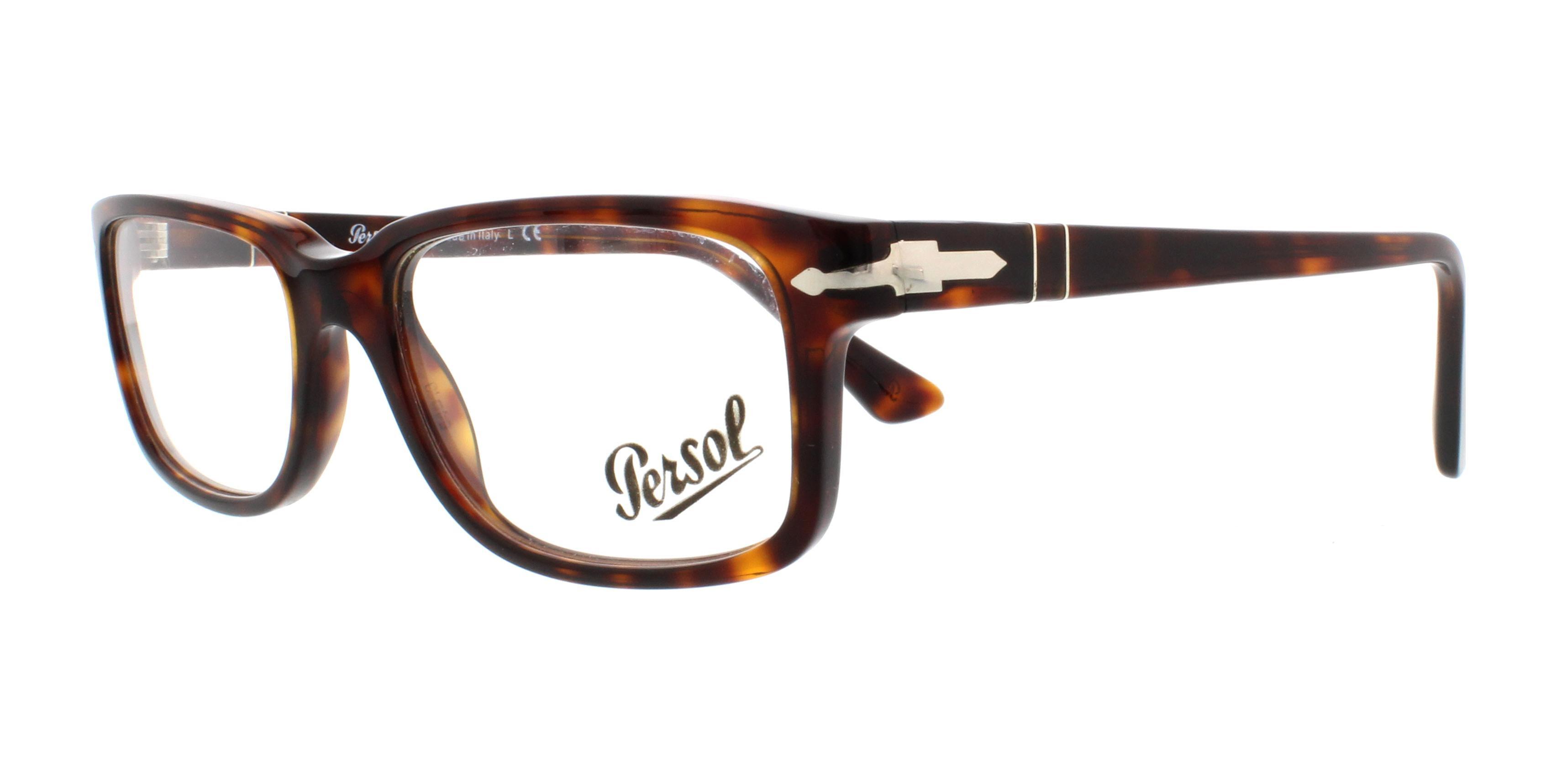 PERSOL Eyeglasses PO3130V 24 Havana 54MM | eBay