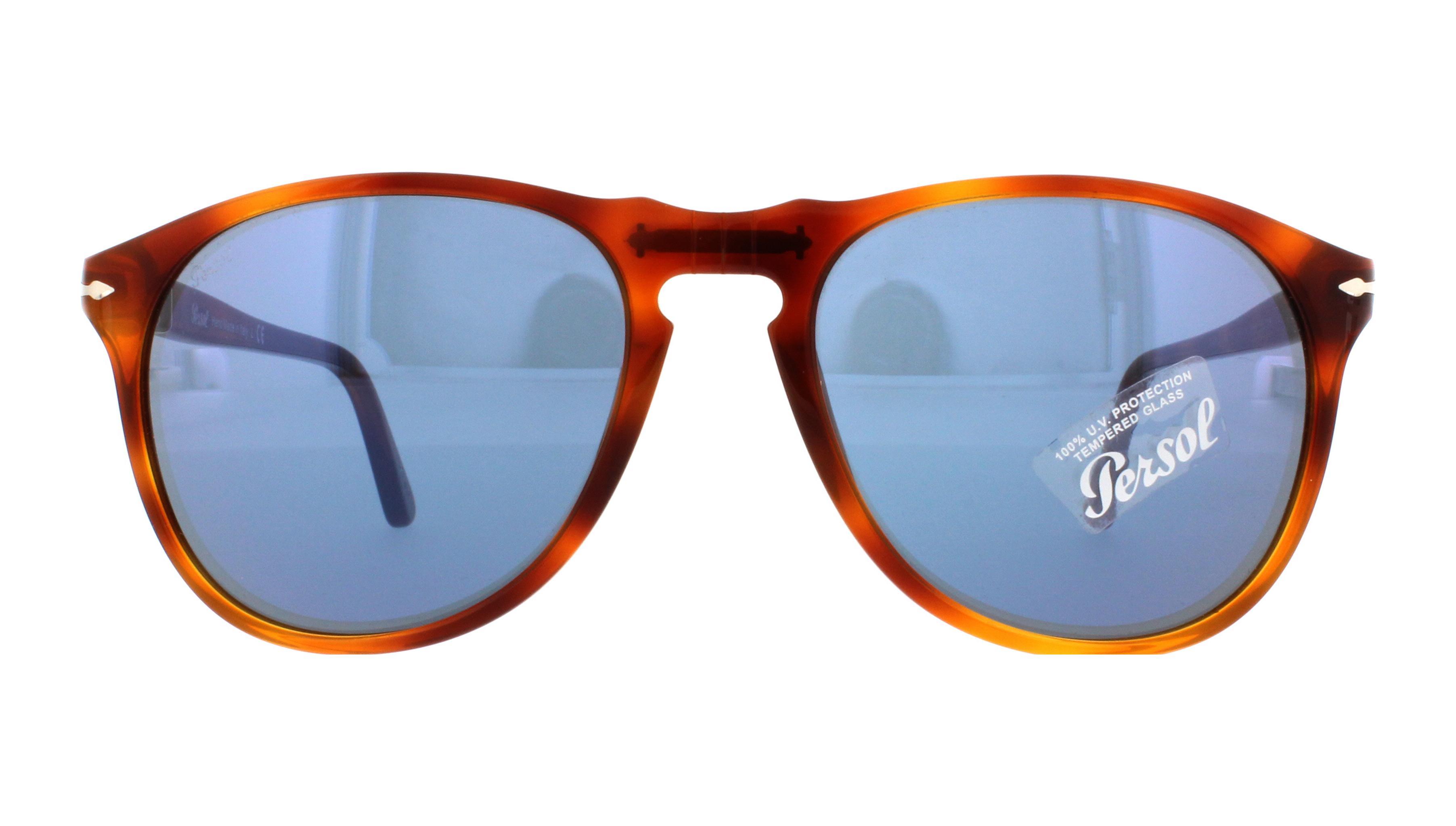 49ec4d8d9b PERSOL Sunglasses PO9649S 96 56 Terra Di Siena 55MM 648676217638