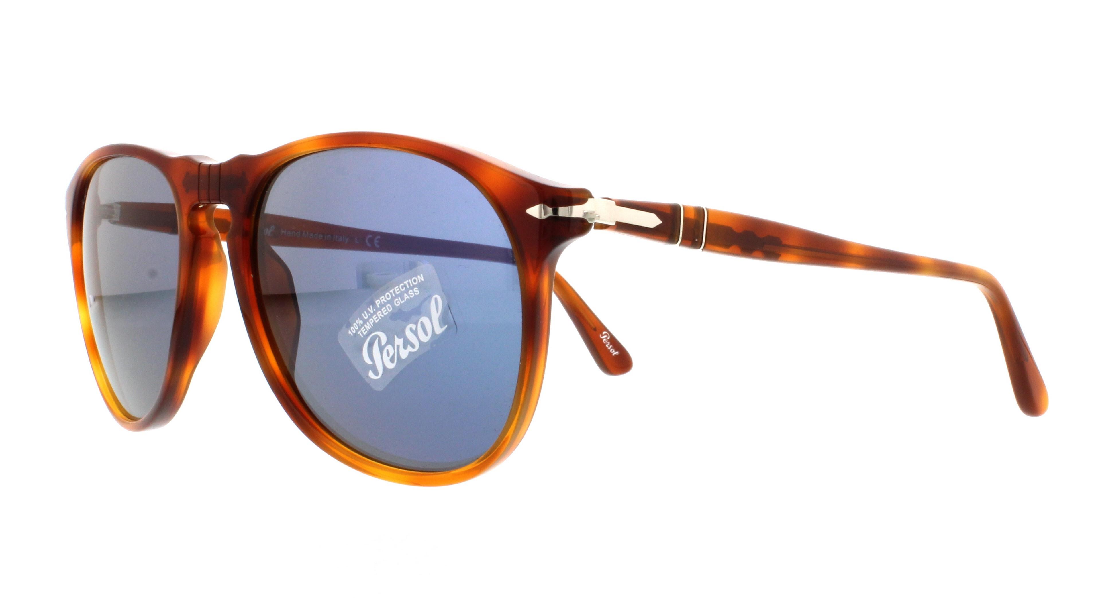 86be6ecd21e PERSOL Sunglasses PO9649S 96 56 Terra Di Siena 55MM 648676217638