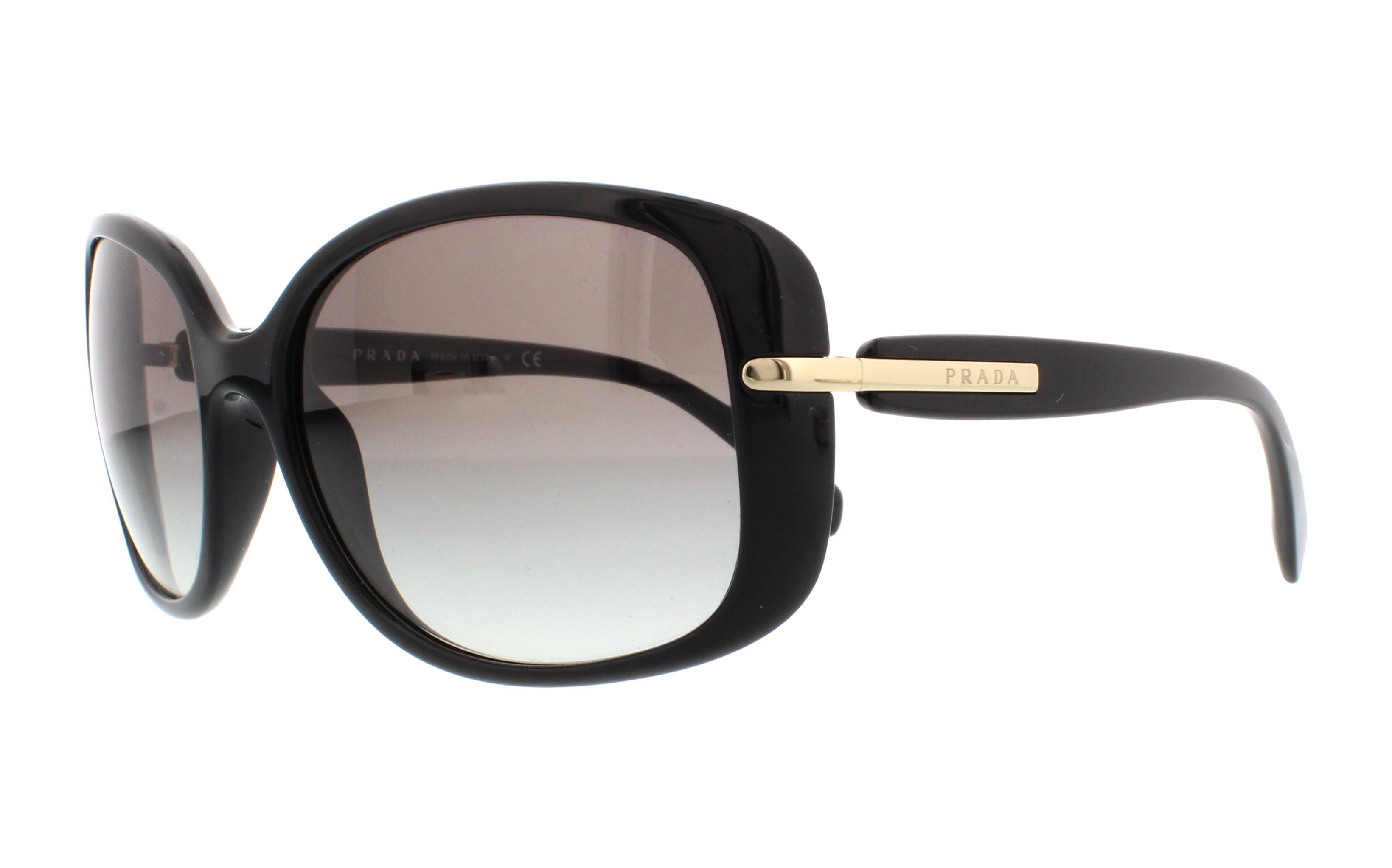 Prada PR08OS Sonnenbrille Schwarz 1AB0A7 57mm rtOHV
