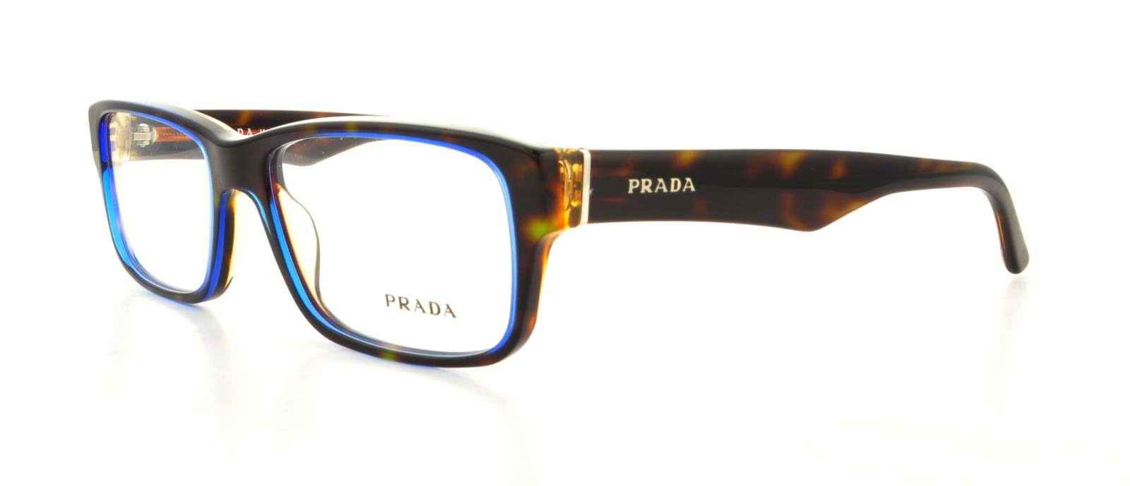 PRADA Eyeglasses PR16MV ZXH1O1 Tortoise Denim 53MM 710882508586 | eBay