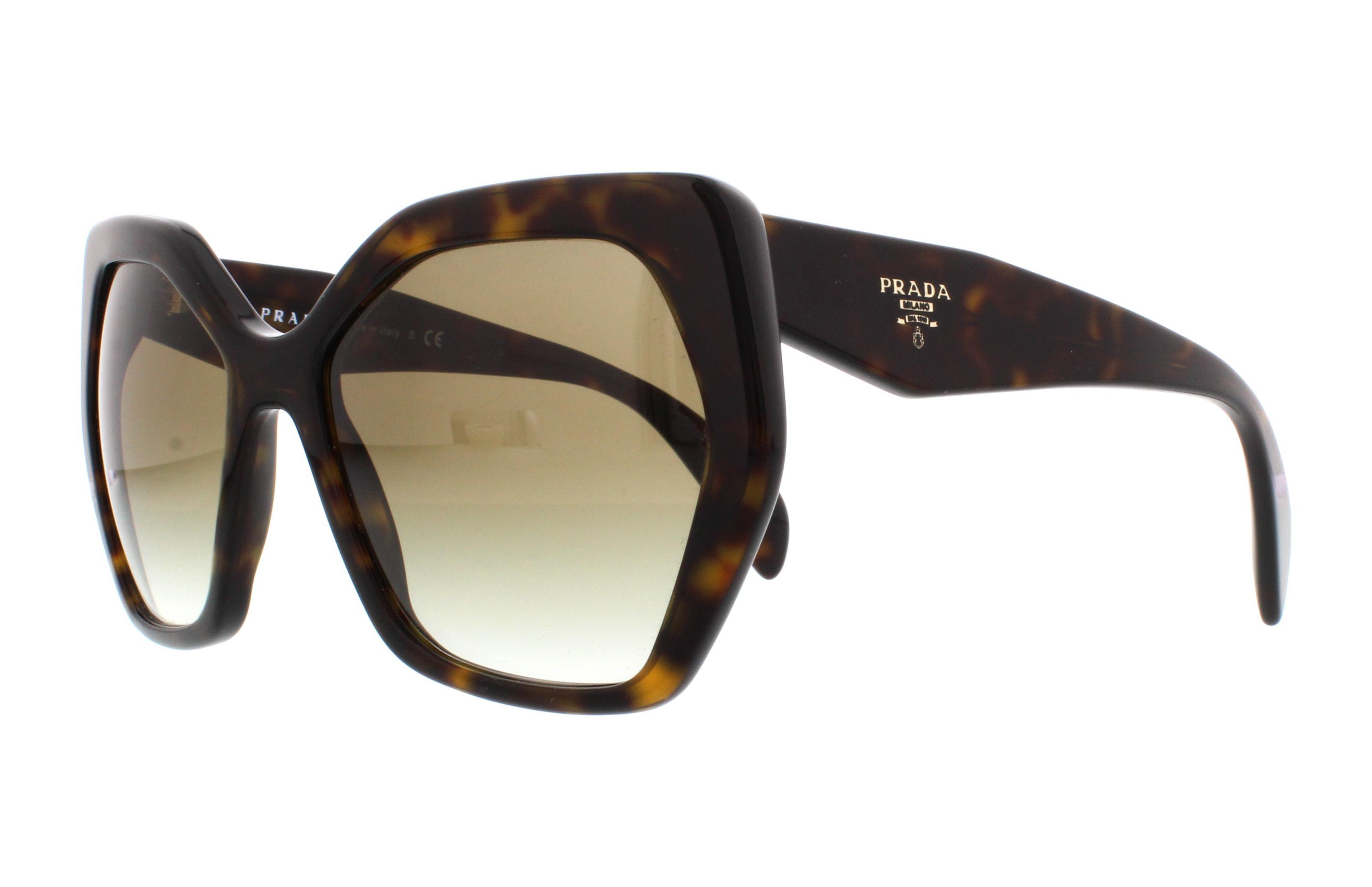 Prada PR16RS Sonnenbrille Tortoise 2AU4M0 56mm UvHLe0