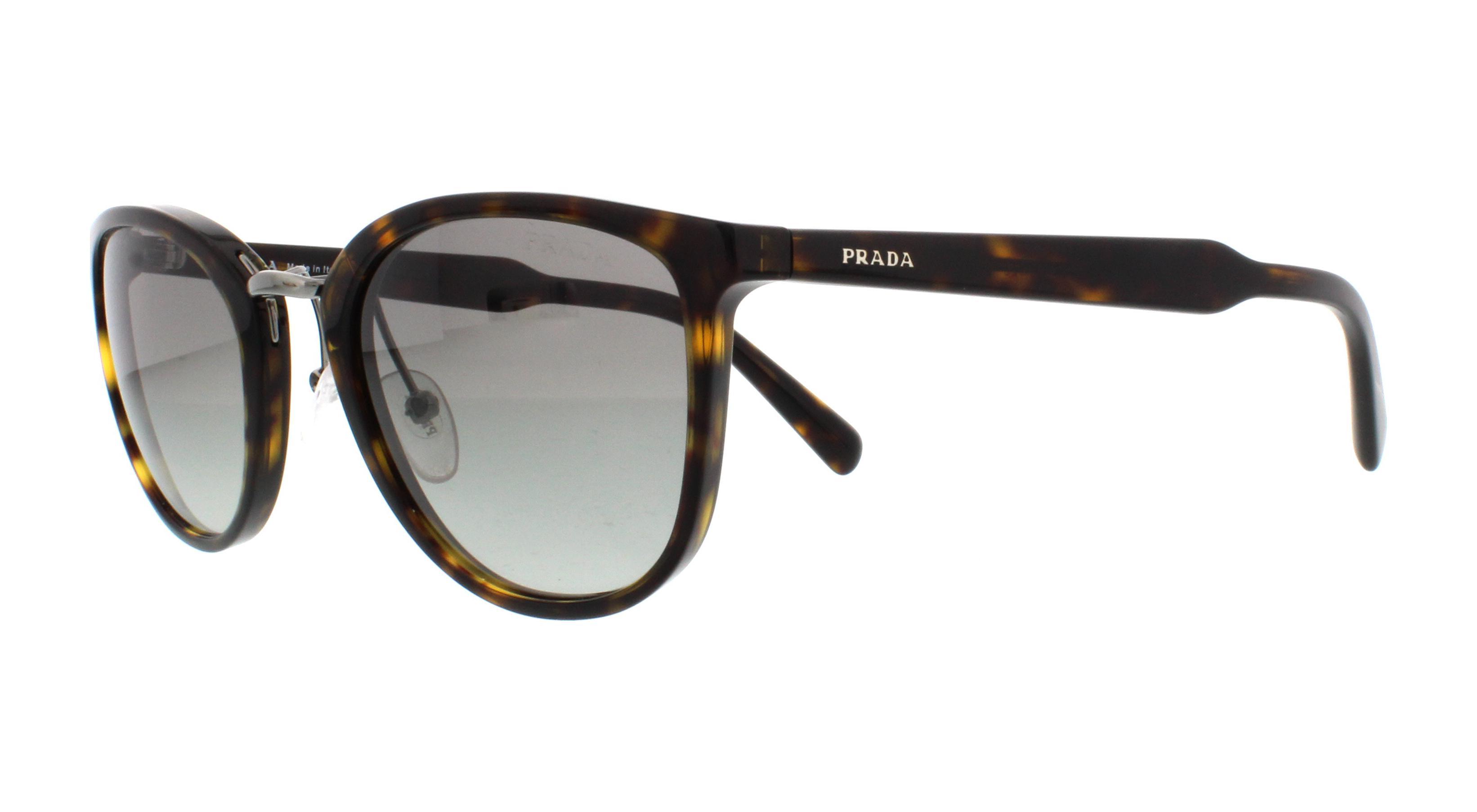 f3c9ae516c4 ... official store prada sunglasses pr22ss 2au3m1 havana 52mm c42b9 8d22a
