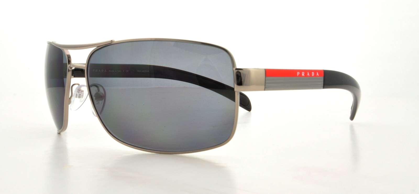 4c3fed0bc13 ... low cost prada sport sunglasses ps54is 5av5z1 gunmetal 65mm 2a7d4 e3093