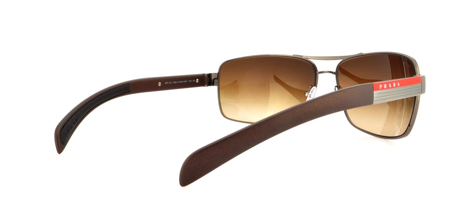 f967e4955733c PRADA SPORT Sunglasses PS54IS 5AV6S1 Gunmetal 65MM
