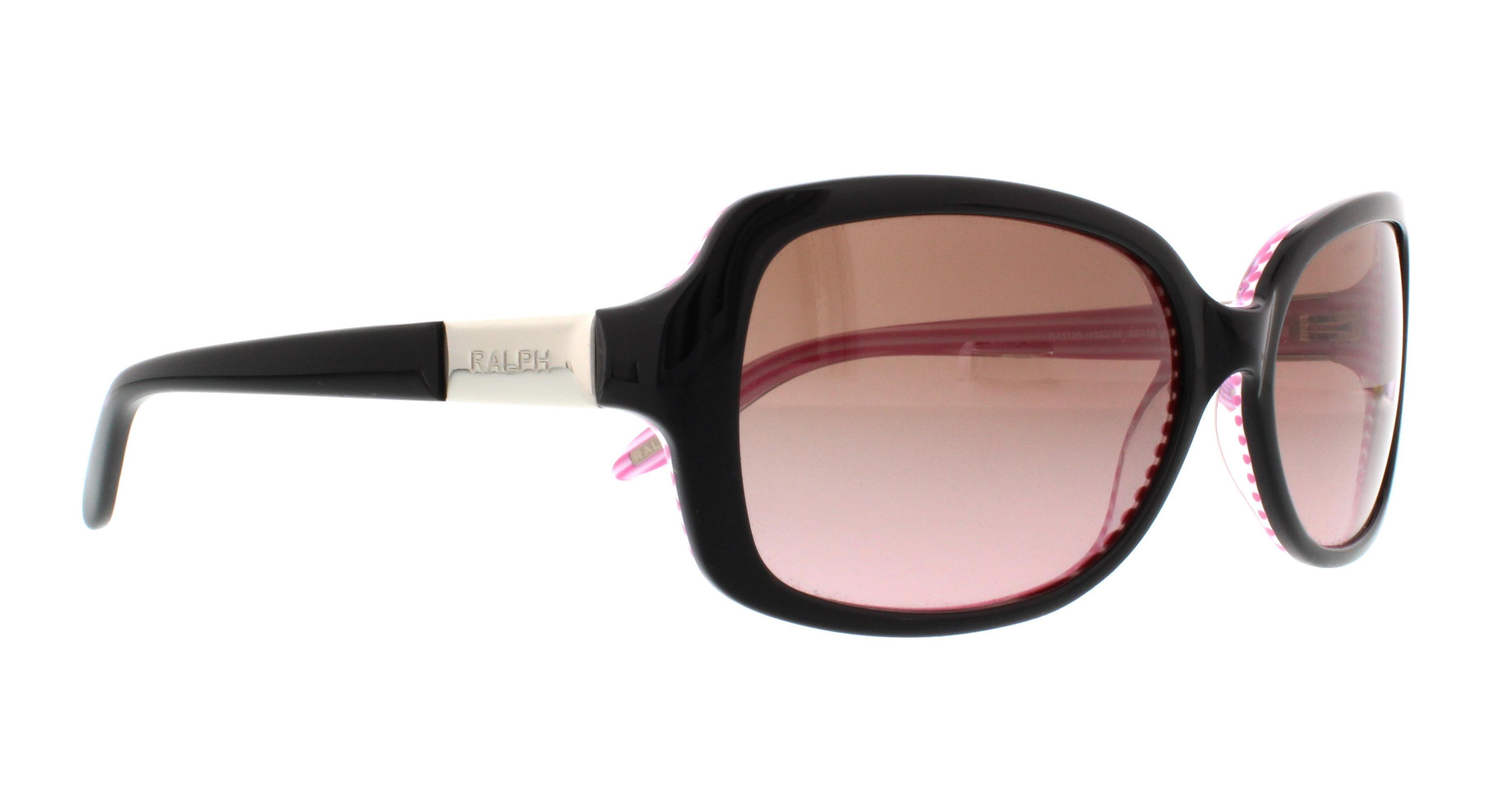 Ralph RA5130 Sonnenbrille Black / Pink 109214 58mm wLrDoa9J