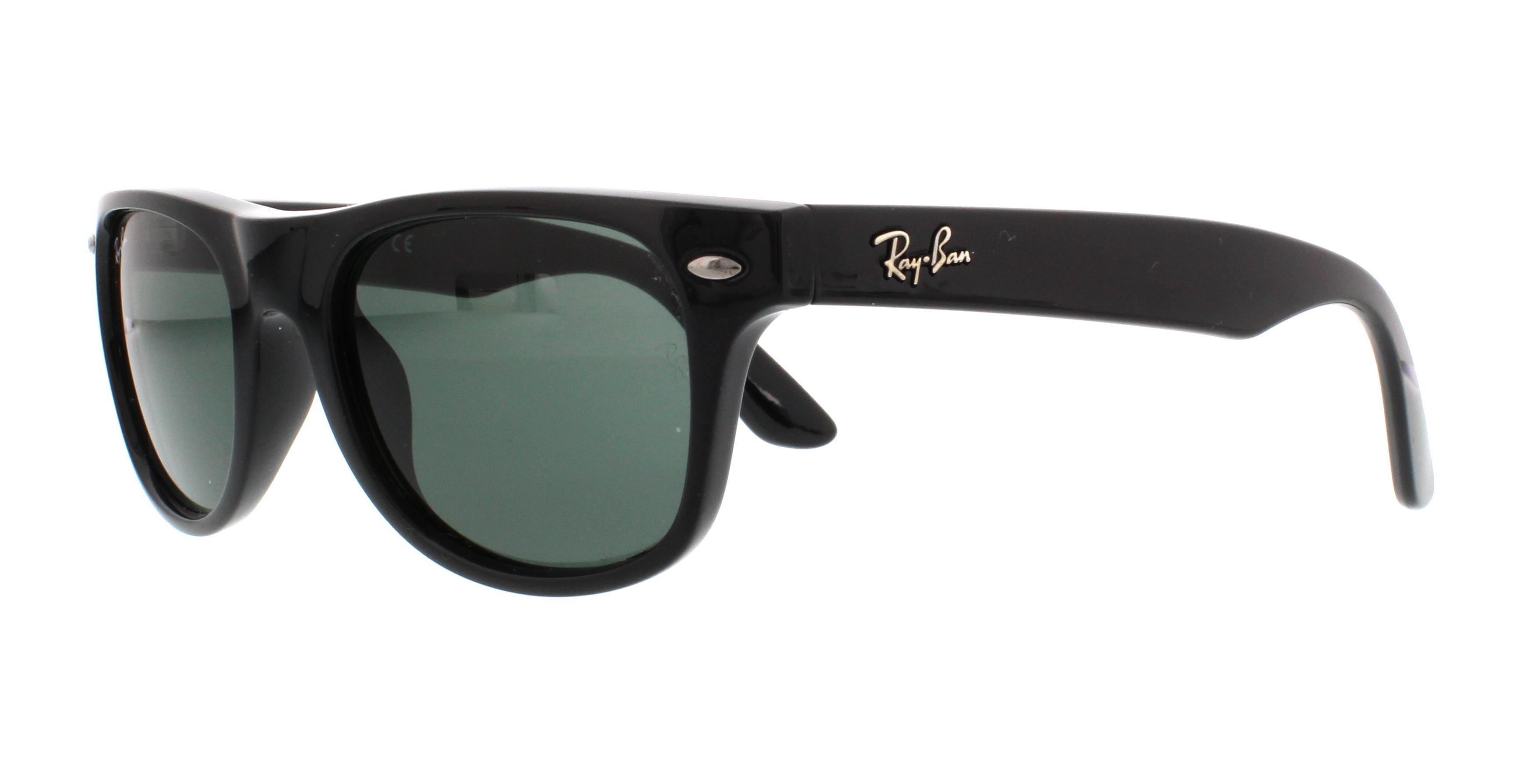 c0778d28b06 Details about RAY BAN JR Sunglasses RJ9035S 100 71 Black 44MM