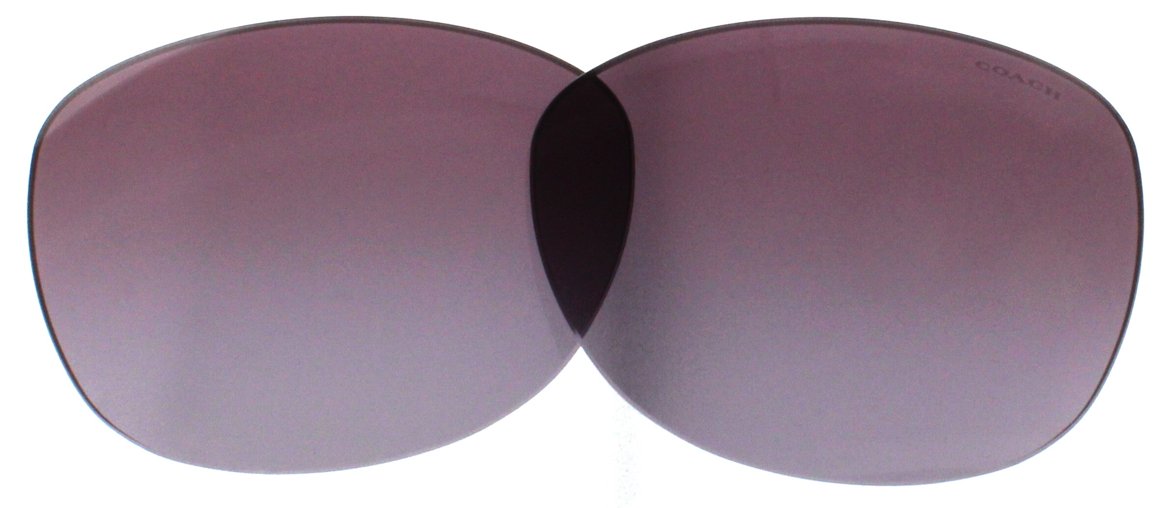 c3f610dcb019 Image is loading COACH-Replacement-Lenses-HC8132-Purple-Gradient-57MM