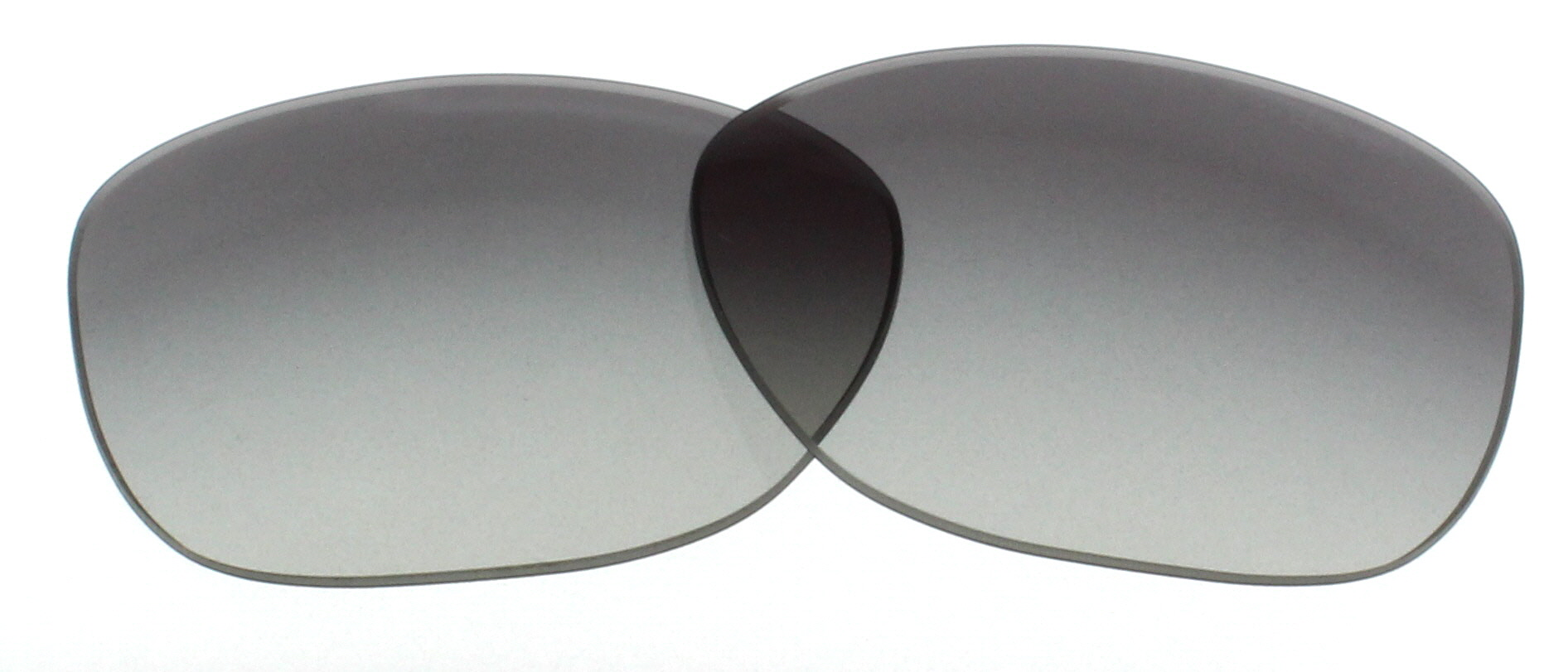 b2f1b98370f8 Image is loading PRADA-Replacement-Lenses-PR-01OS-Grey-Gradient-55mm