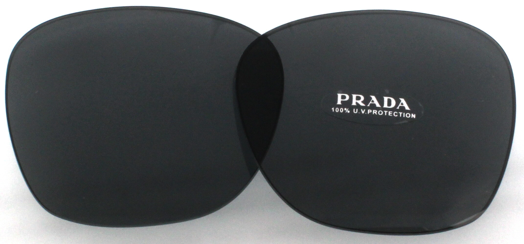 e7941298ad8d Image is loading PRADA-Replacement-Lenses-PR09SSF-Dark-Grey-56MM
