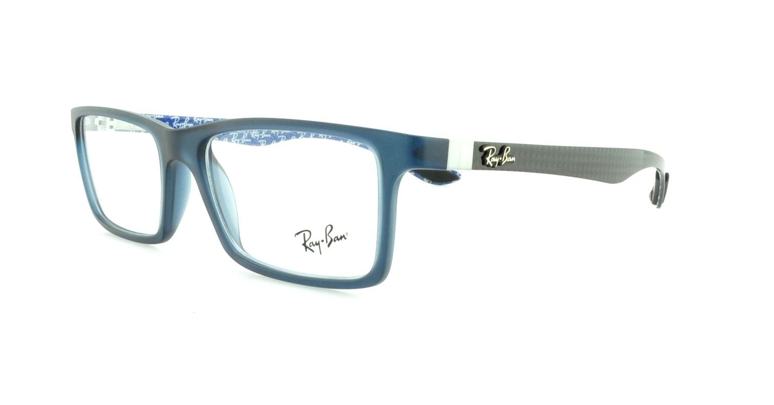 cc782fe9fa RAY BAN Eyeglasses RX8901 5262 Gloss Blue 55MM 8053672192742