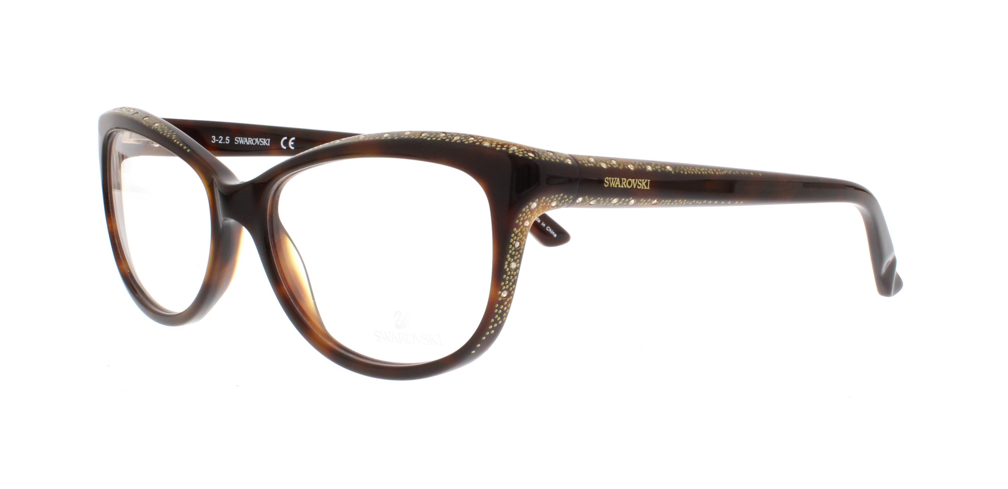 f6022488bb SWAROVSKI Eyeglasses SK5100 DAME 052 Dark Havana 54MM