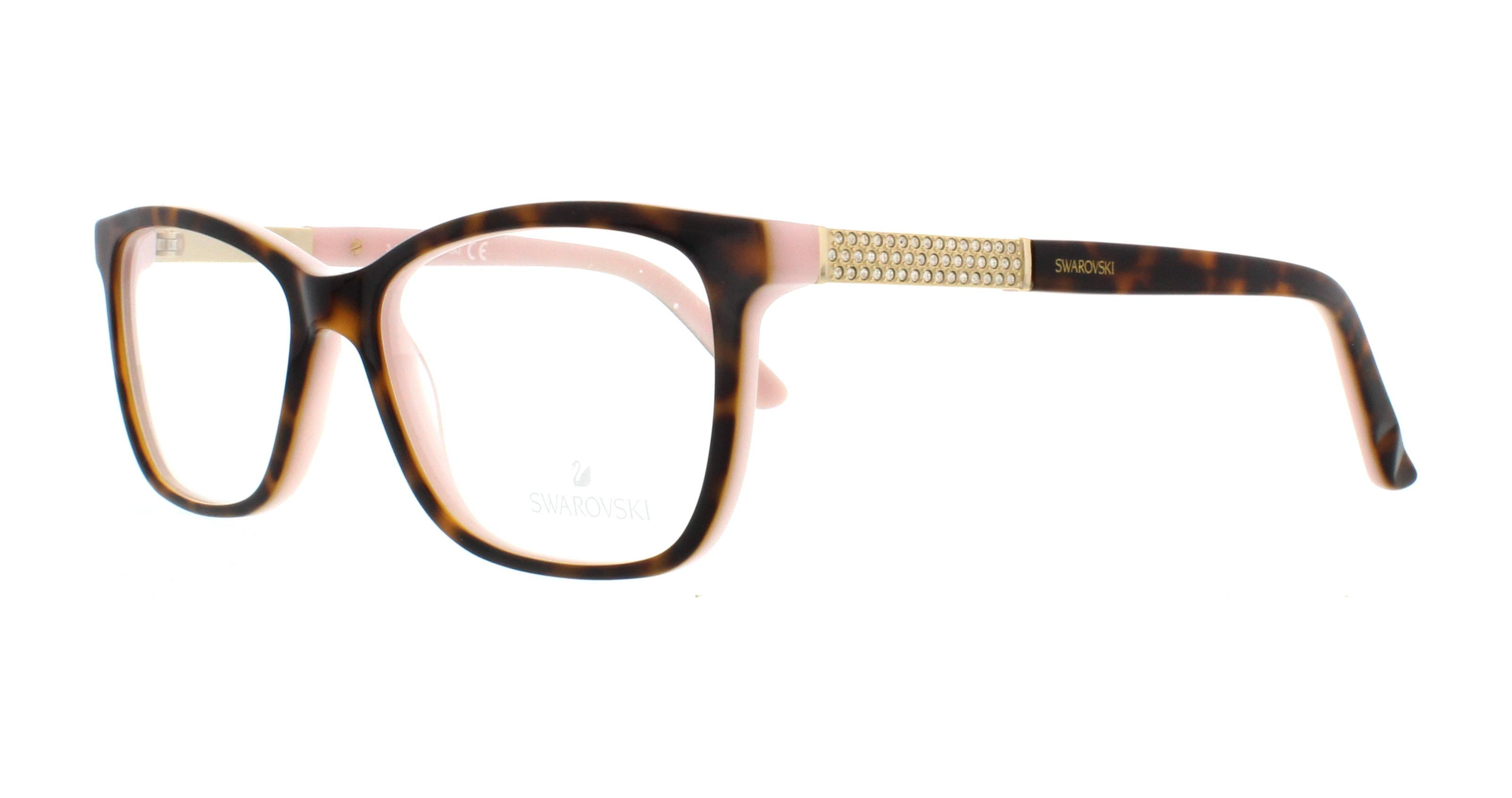 2131489a728a SWAROVSKI Eyeglasses SK5117 ELINA 056 Havana 51MM 664689854882