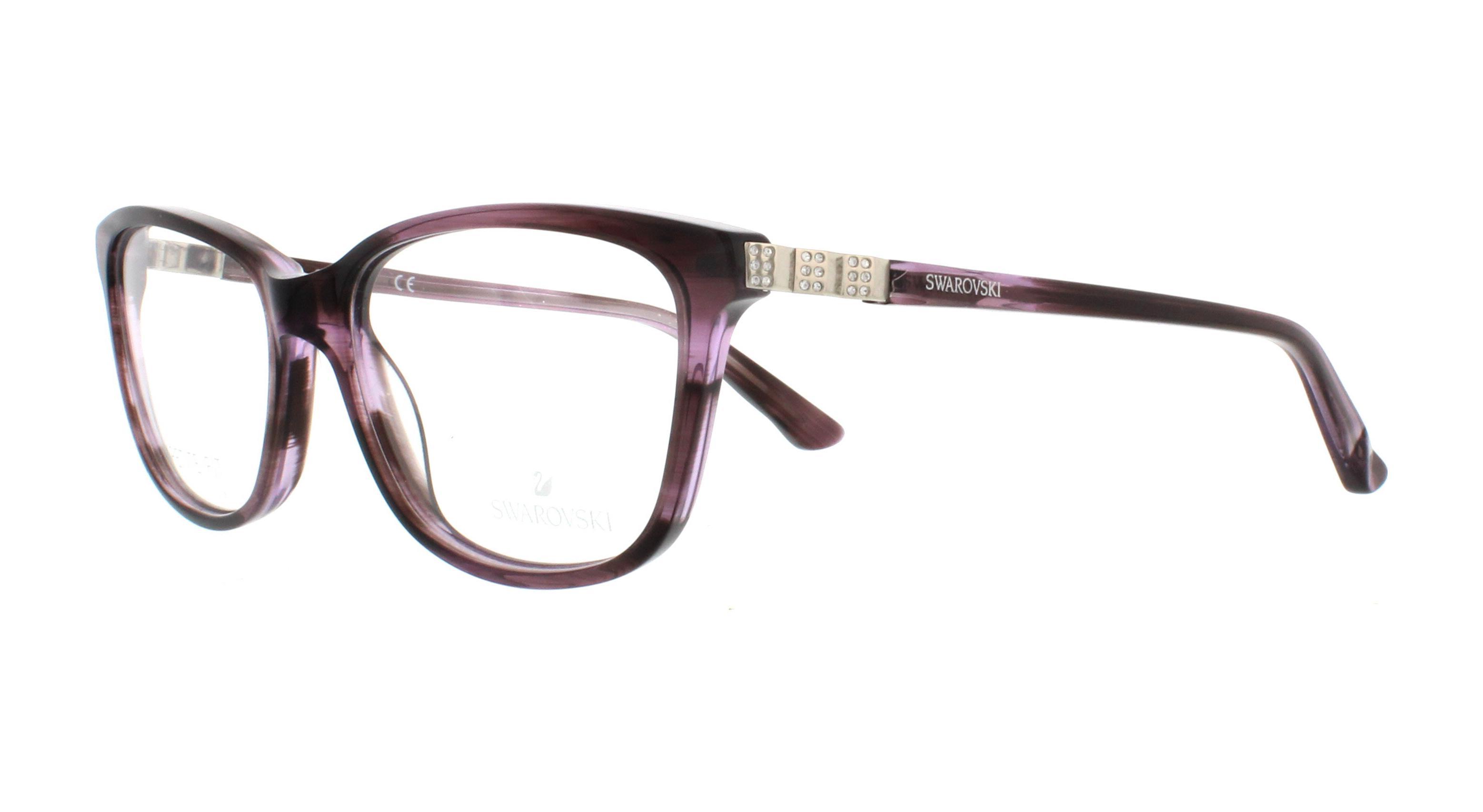 e03c16a4a5e7 SWAROVSKI Eyeglasses SK5185 GILBERTA 083 Violet Other 51MM ...